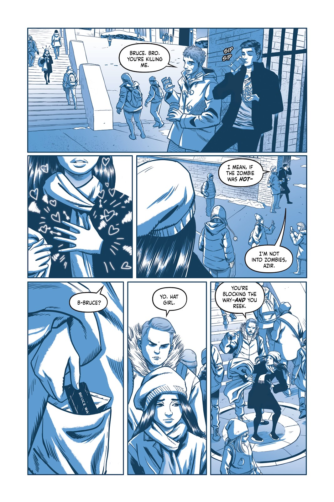 Read online Under the Moon: A Catwoman Tale comic -  Issue # TPB (Part 2) - 6