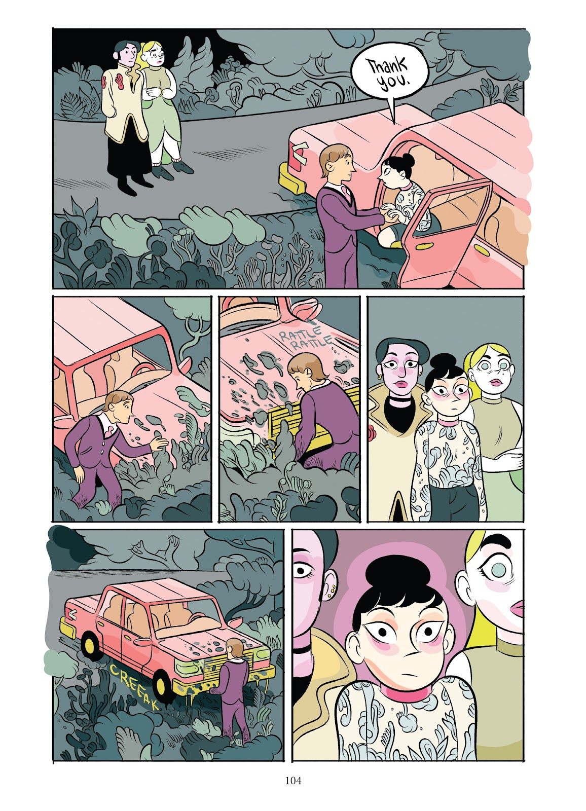 Read online Girl Town comic -  Issue # TPB (Part 2) - 4