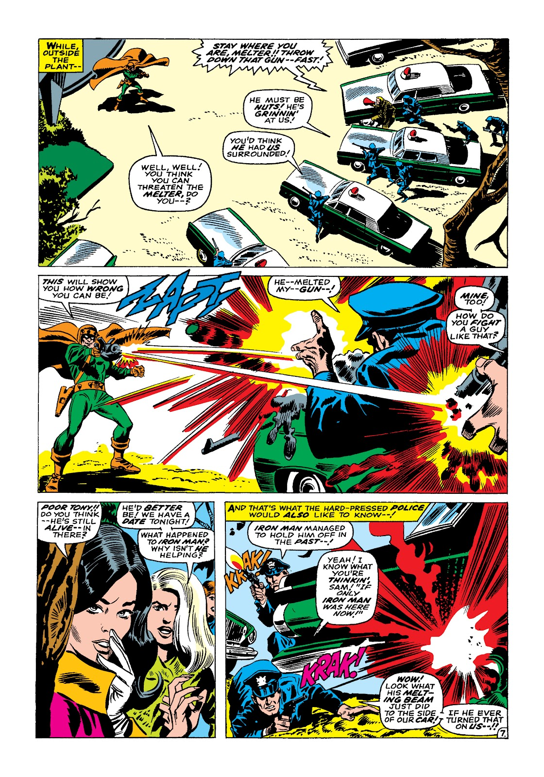 Read online Marvel Masterworks: The Invincible Iron Man comic -  Issue # TPB 4 (Part 1) - 91