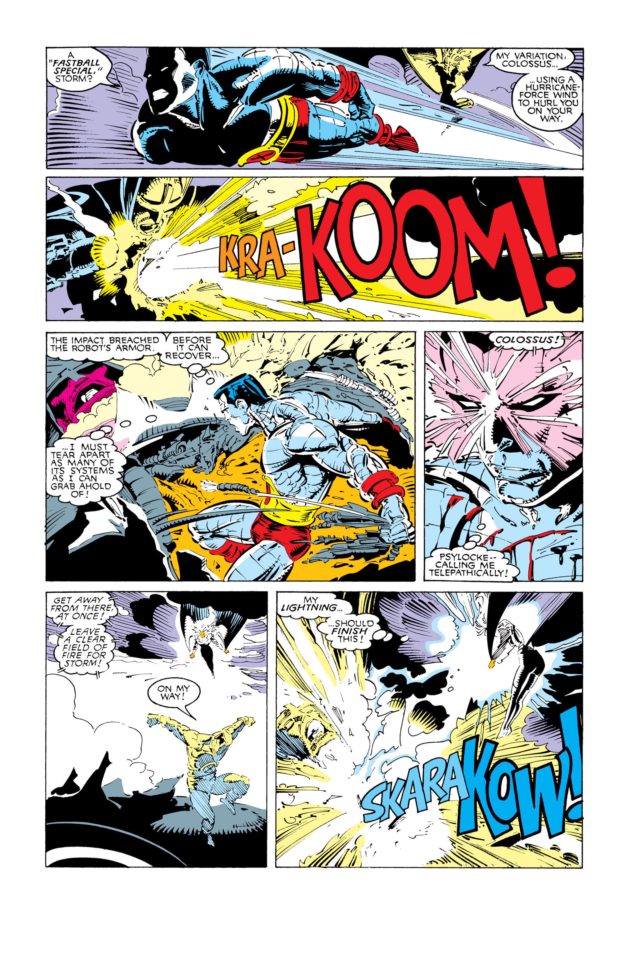 Read online Uncanny X-Men (1963) comic -  Issue #247 - 6