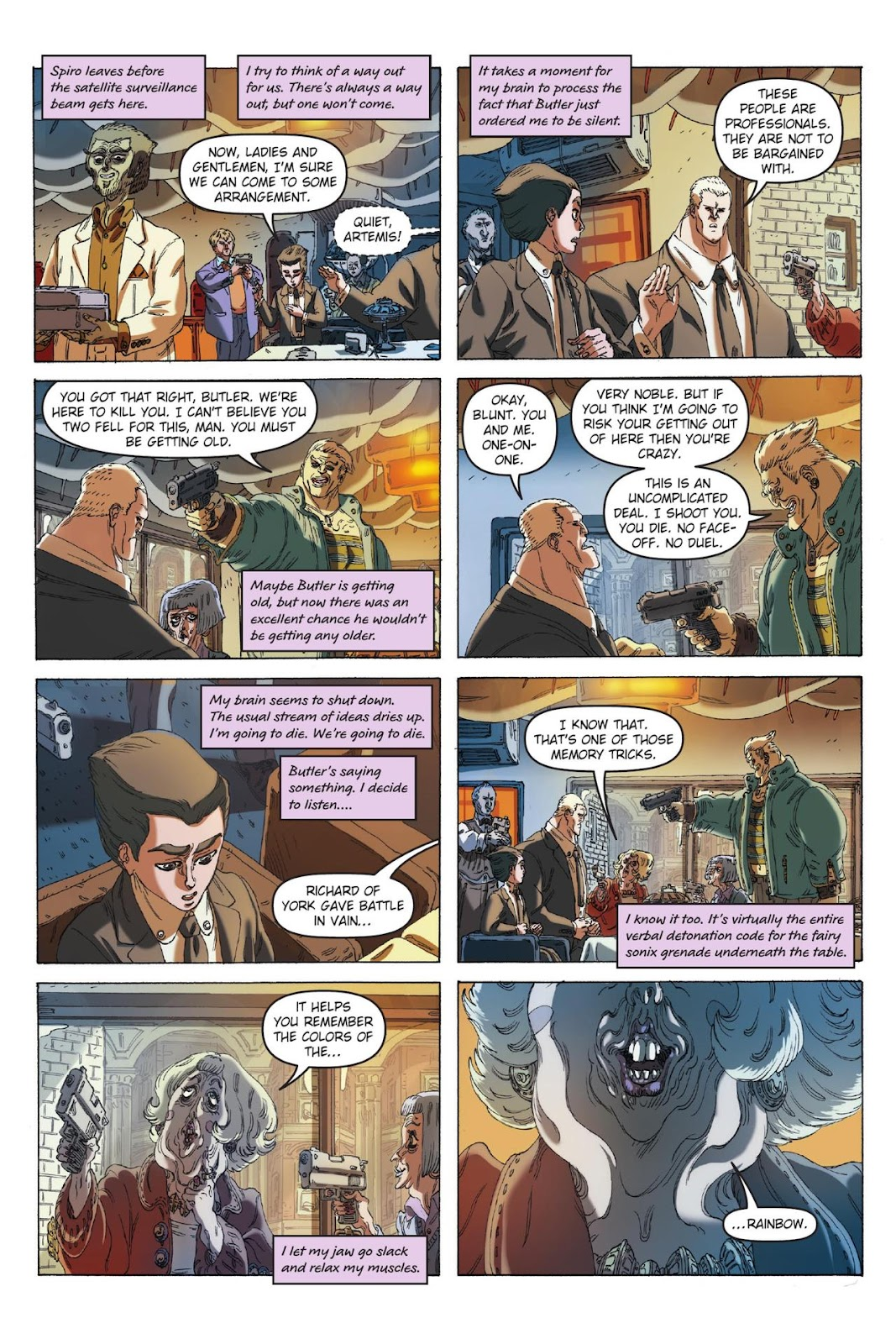Artemis Fowl: The Eternity Code issue TPB - Page 14