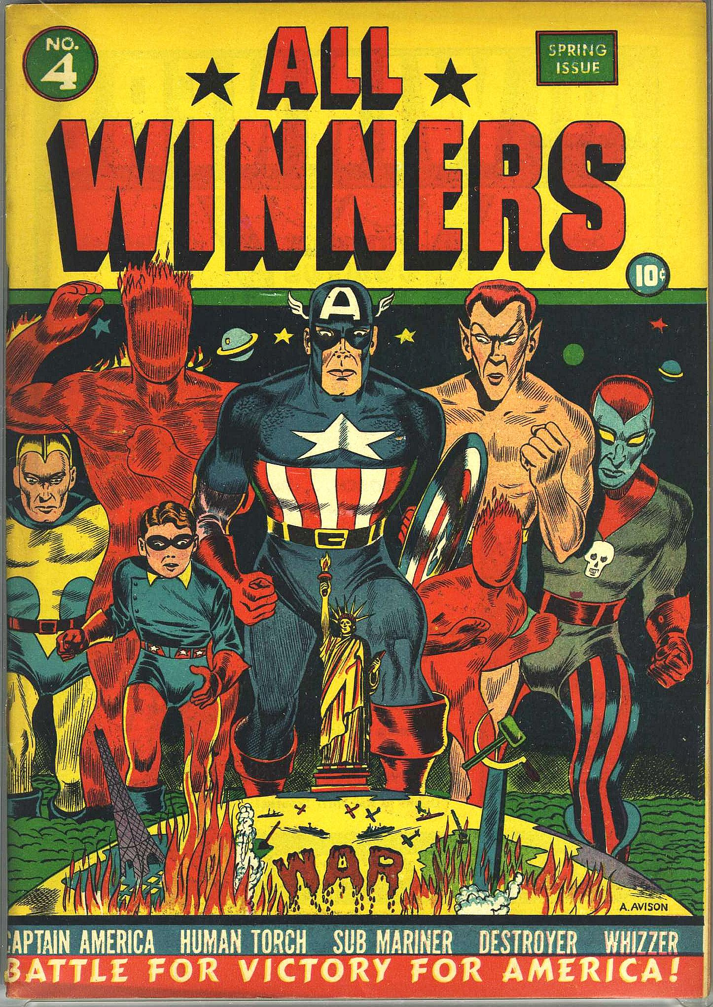 Read online All-Winners Comics comic -  Issue #4 - 1