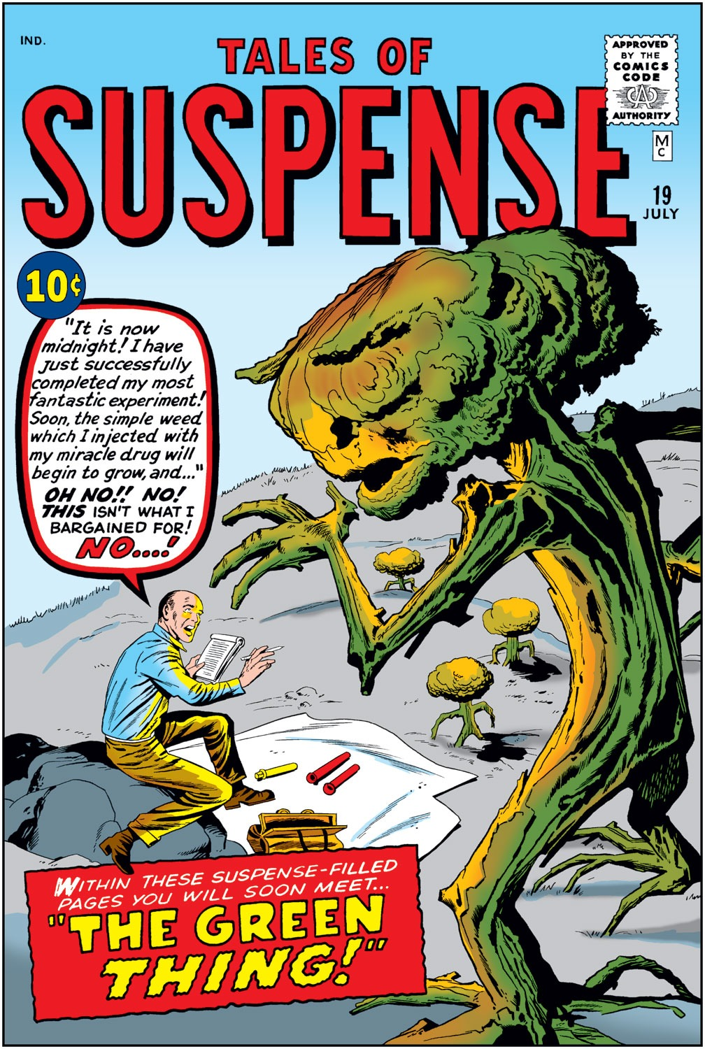 Tales of Suspense (1959) issue 19 - Page 1