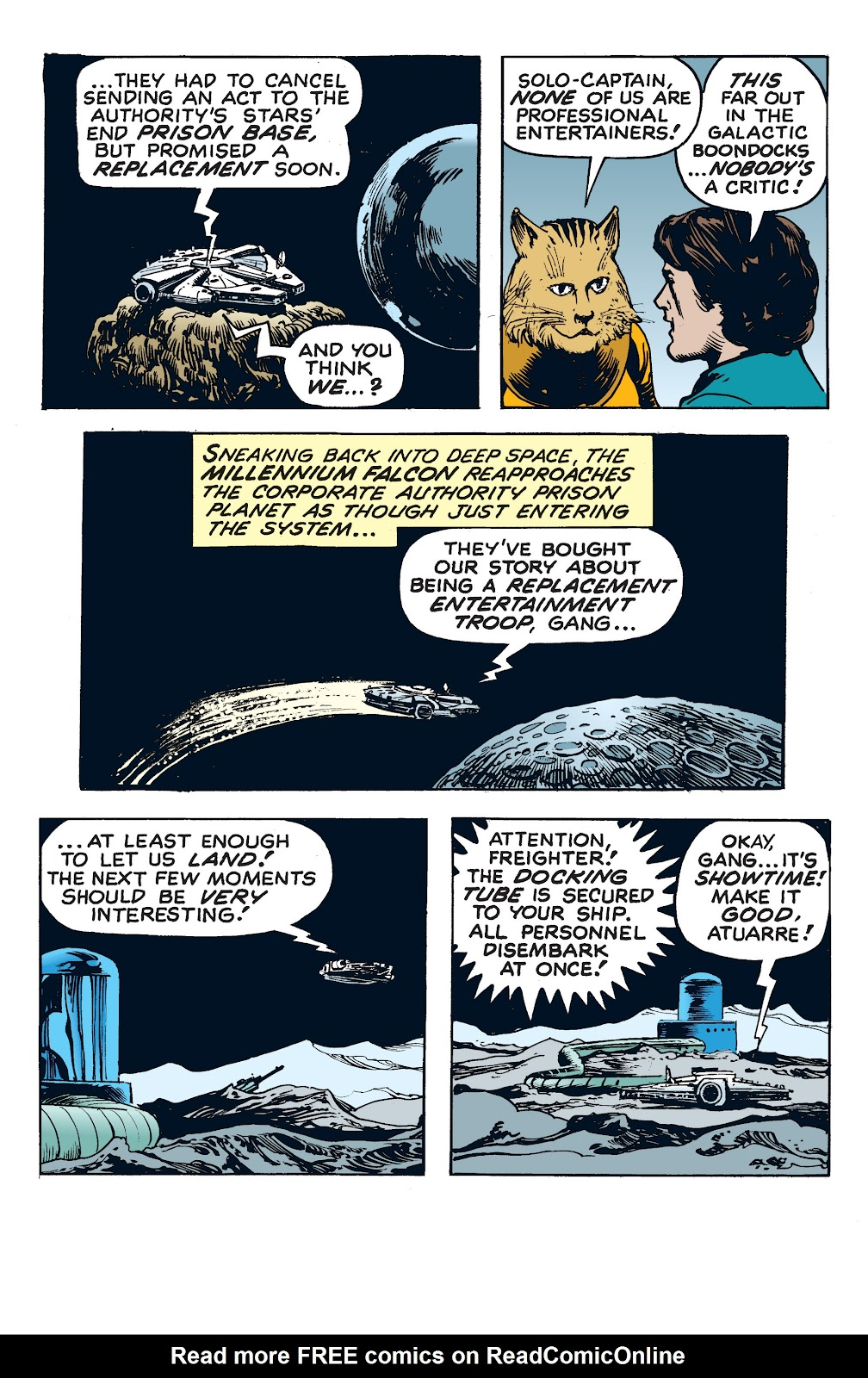 Read online Star Wars Legends: The Newspaper Strips - Epic Collection comic -  Issue # TPB (Part 4) - 49