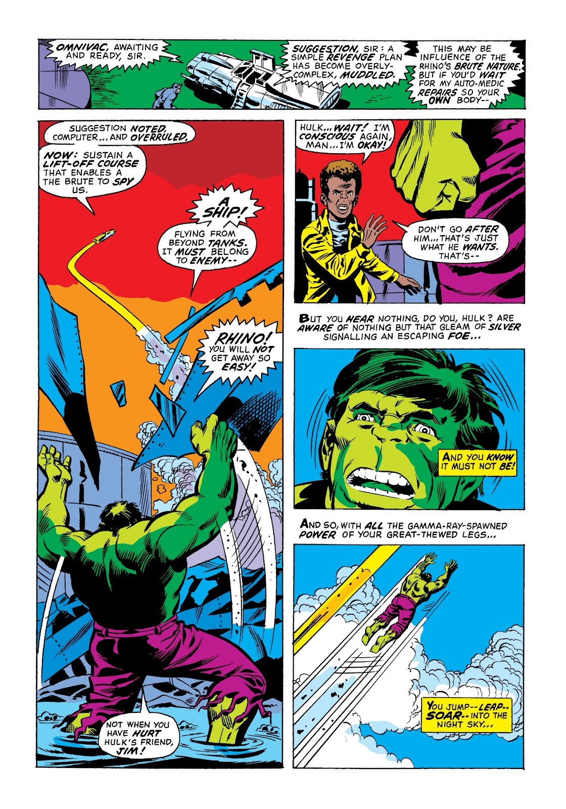 Read online Marvel Masterworks: The Incredible Hulk comic -  Issue # TPB 9 (Part 1) - 28