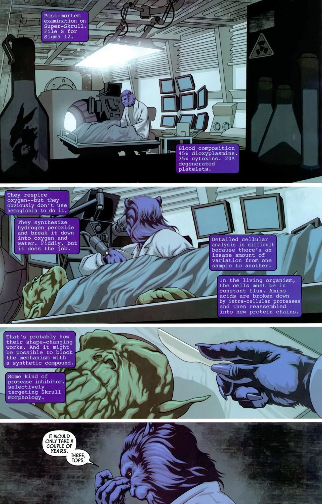 Read online Secret Invasion: X-Men comic -  Issue #3 - 13