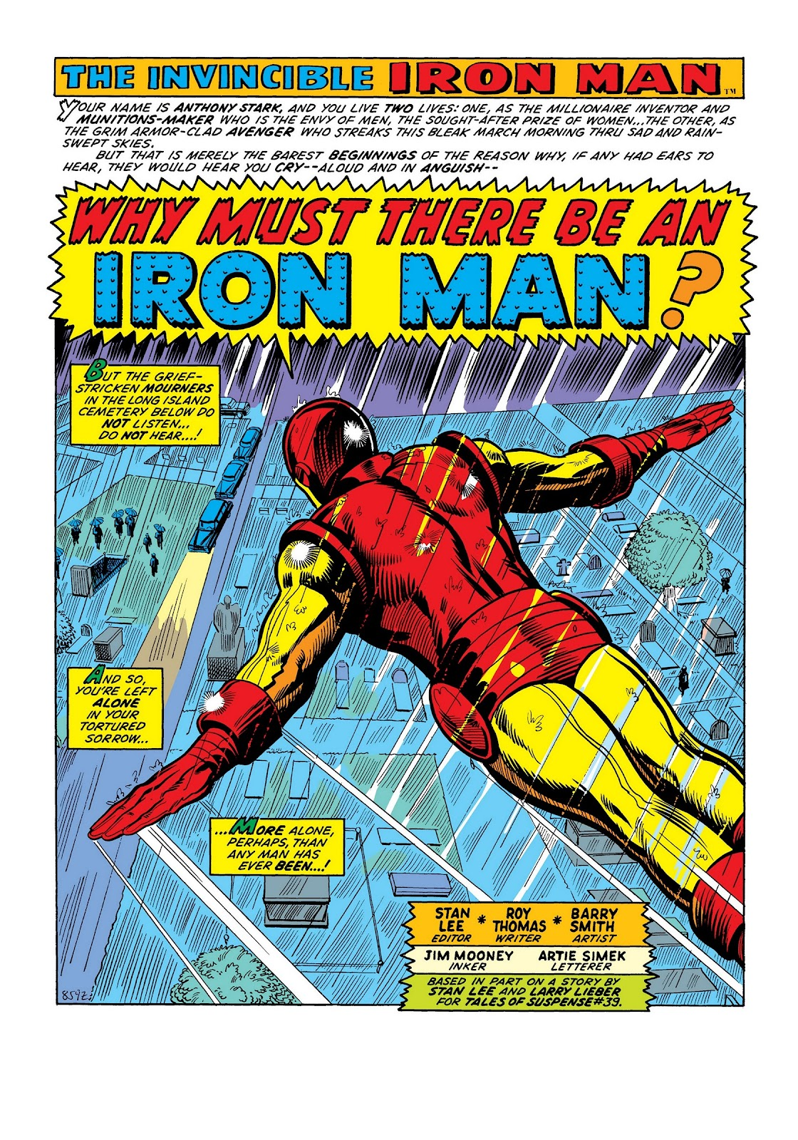 Read online Marvel Masterworks: The Invincible Iron Man comic -  Issue # TPB 8 (Part 2) - 67