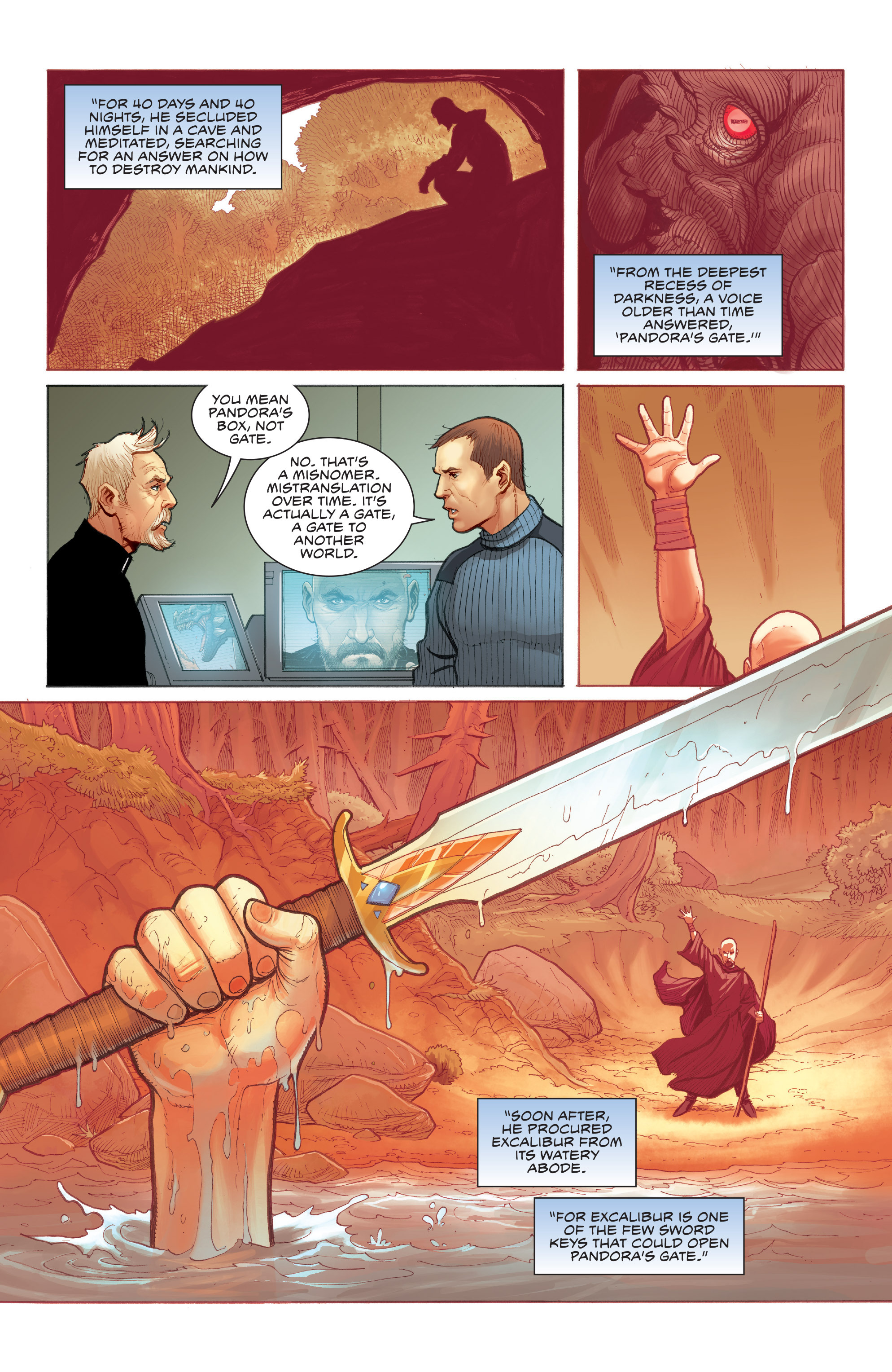 Read online Skybourne comic -  Issue #3 - 20
