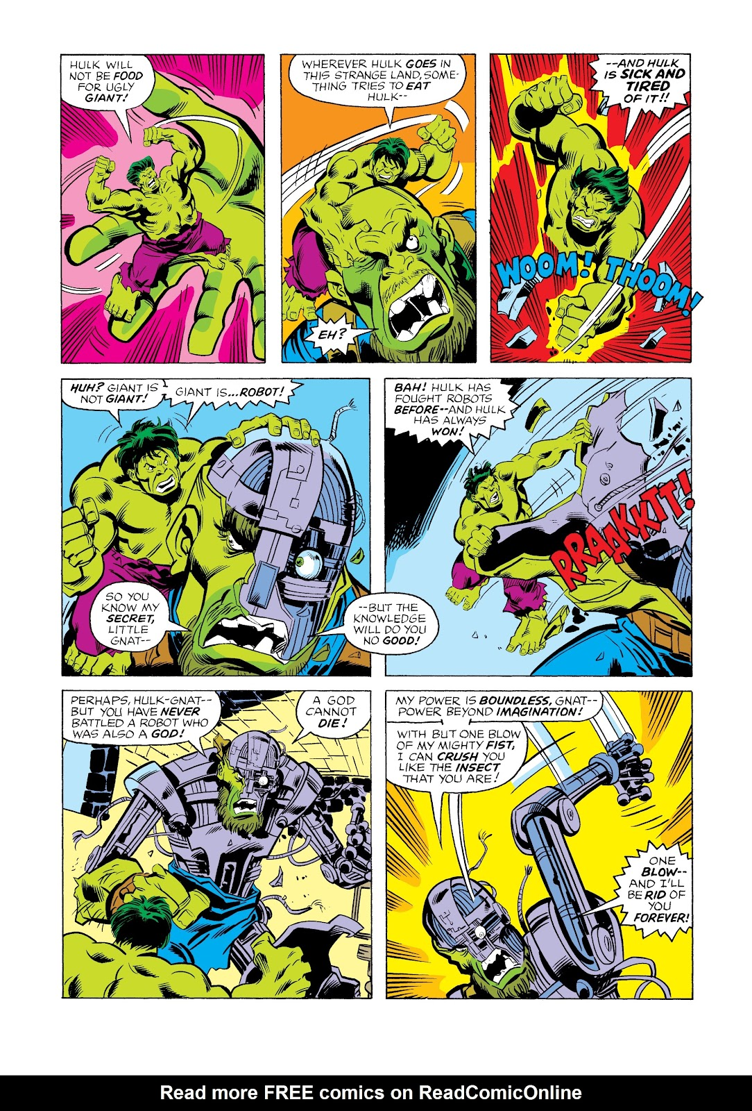 Read online Marvel Masterworks: The Incredible Hulk comic -  Issue # TPB 12 (Part 2) - 52