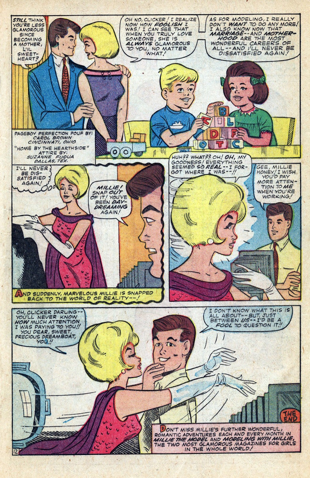 Read online Millie the Model comic -  Issue # Annual 3 - 71