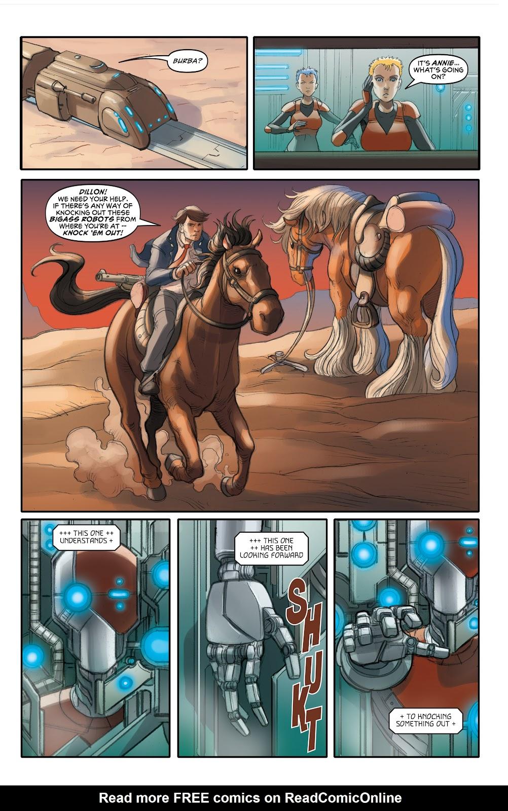 Read online Elephantmen 2261 Season Two: The Pentalion Job comic -  Issue # TPB - 60