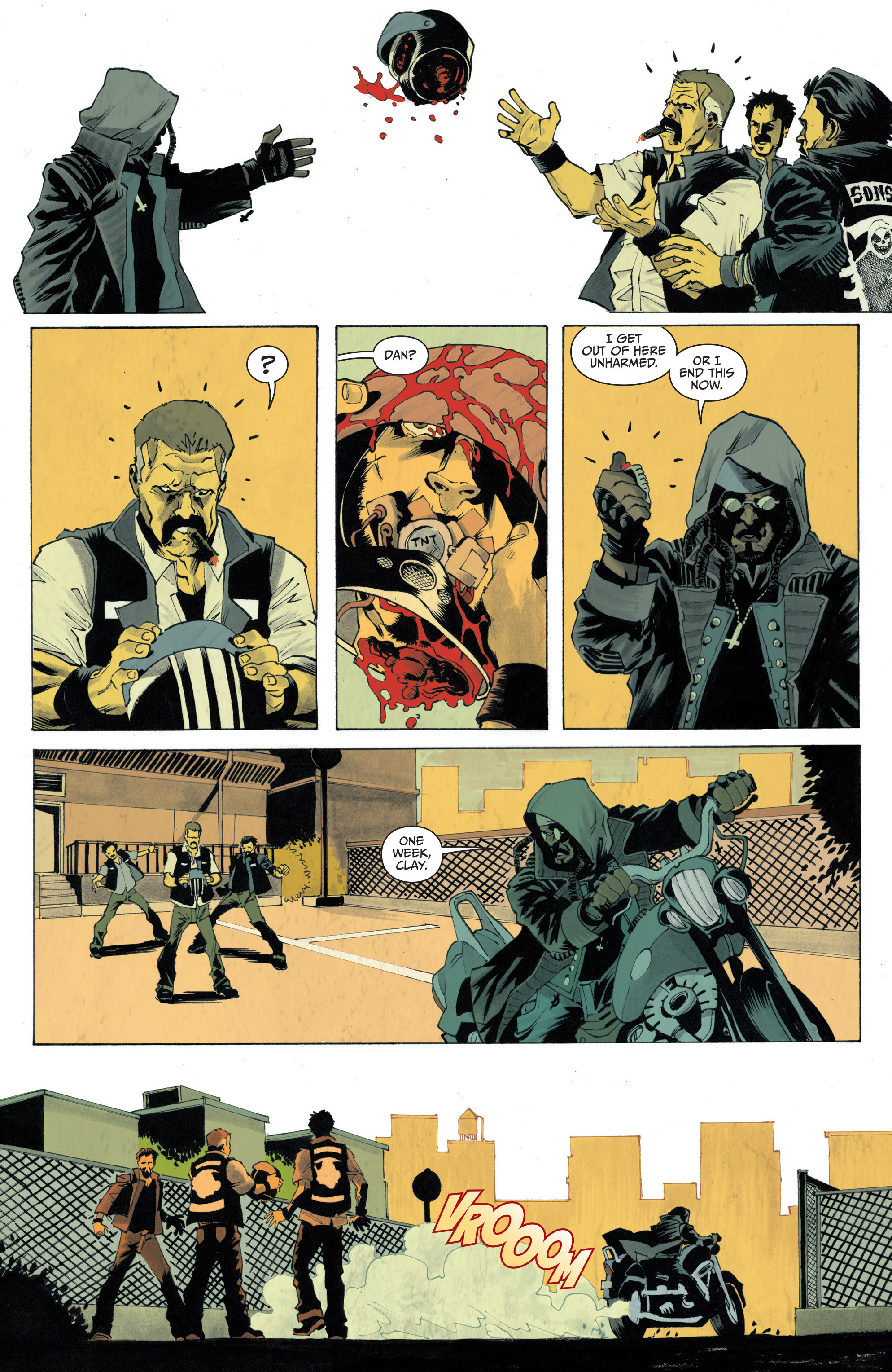 Read online Sons of Anarchy: Redwood Original comic -  Issue #4 - 17