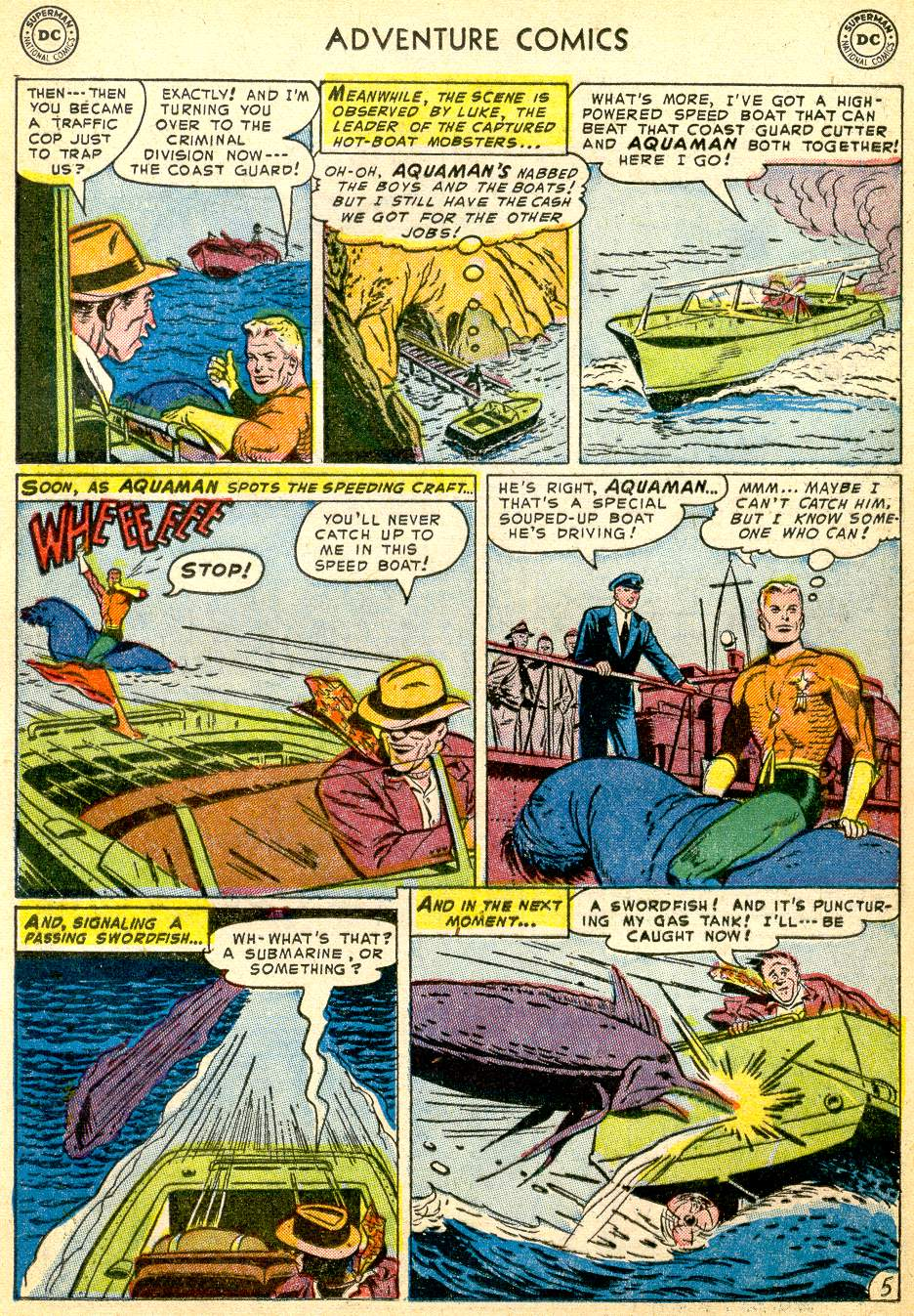 Read online Adventure Comics (1938) comic -  Issue #191 - 21