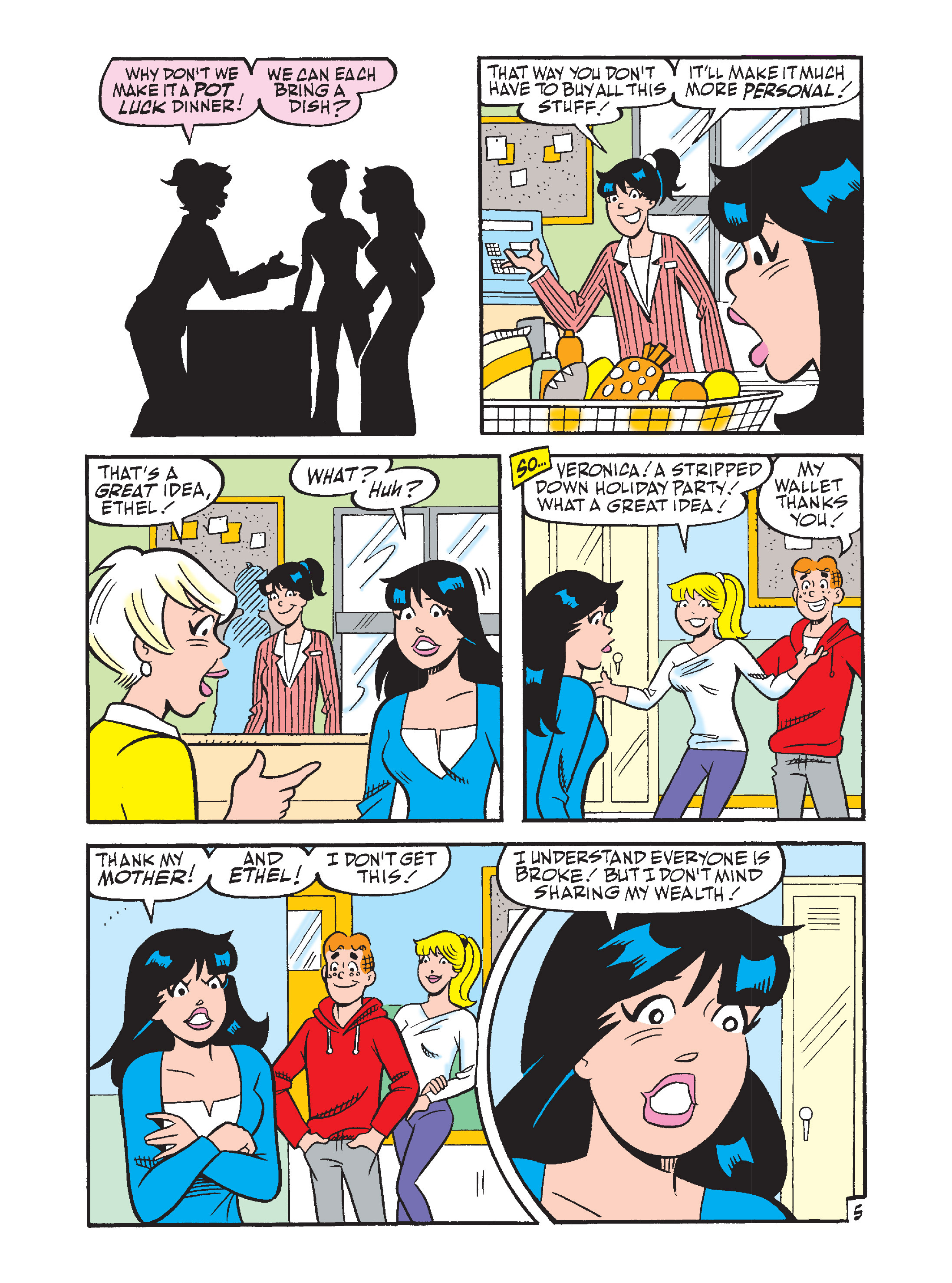 Read online Archie's Funhouse Double Digest comic -  Issue #10 - 145
