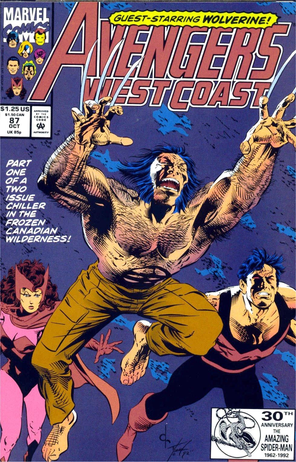 Avengers West Coast (1989) 87 Page 1