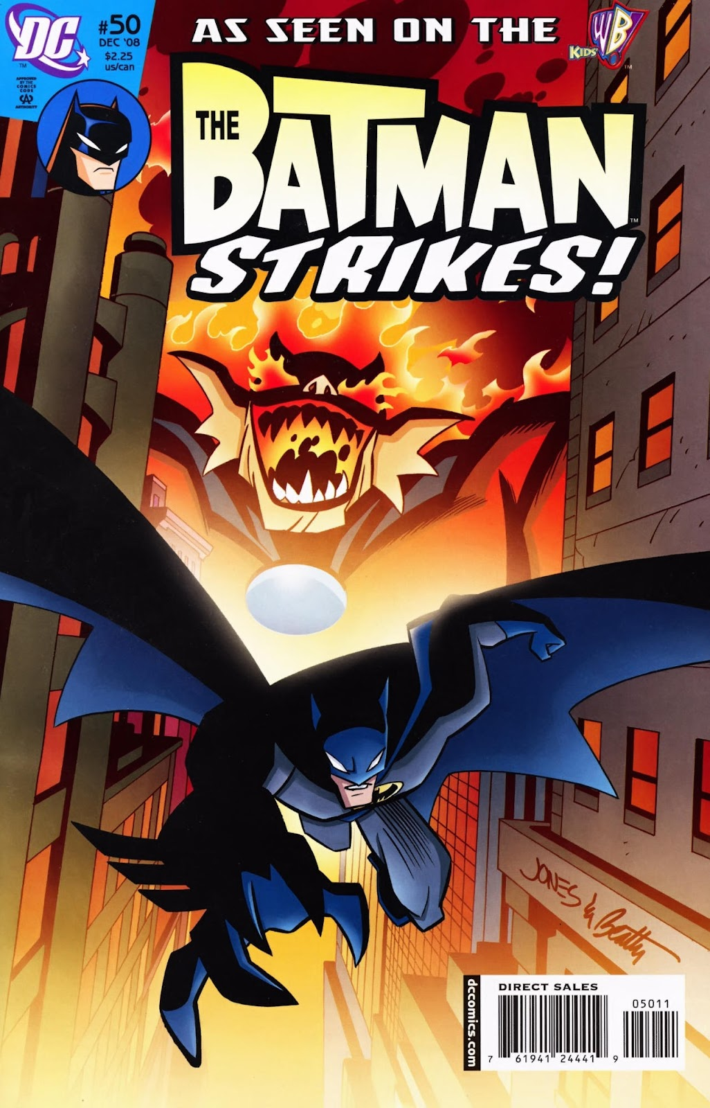 The Batman Strikes! issue 50 - Page 1