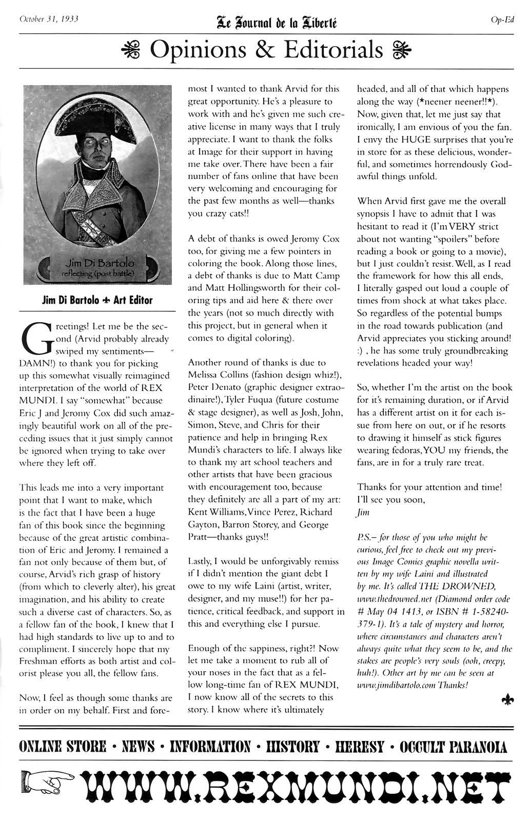 Read online Rex Mundi comic -  Issue #14 - 29