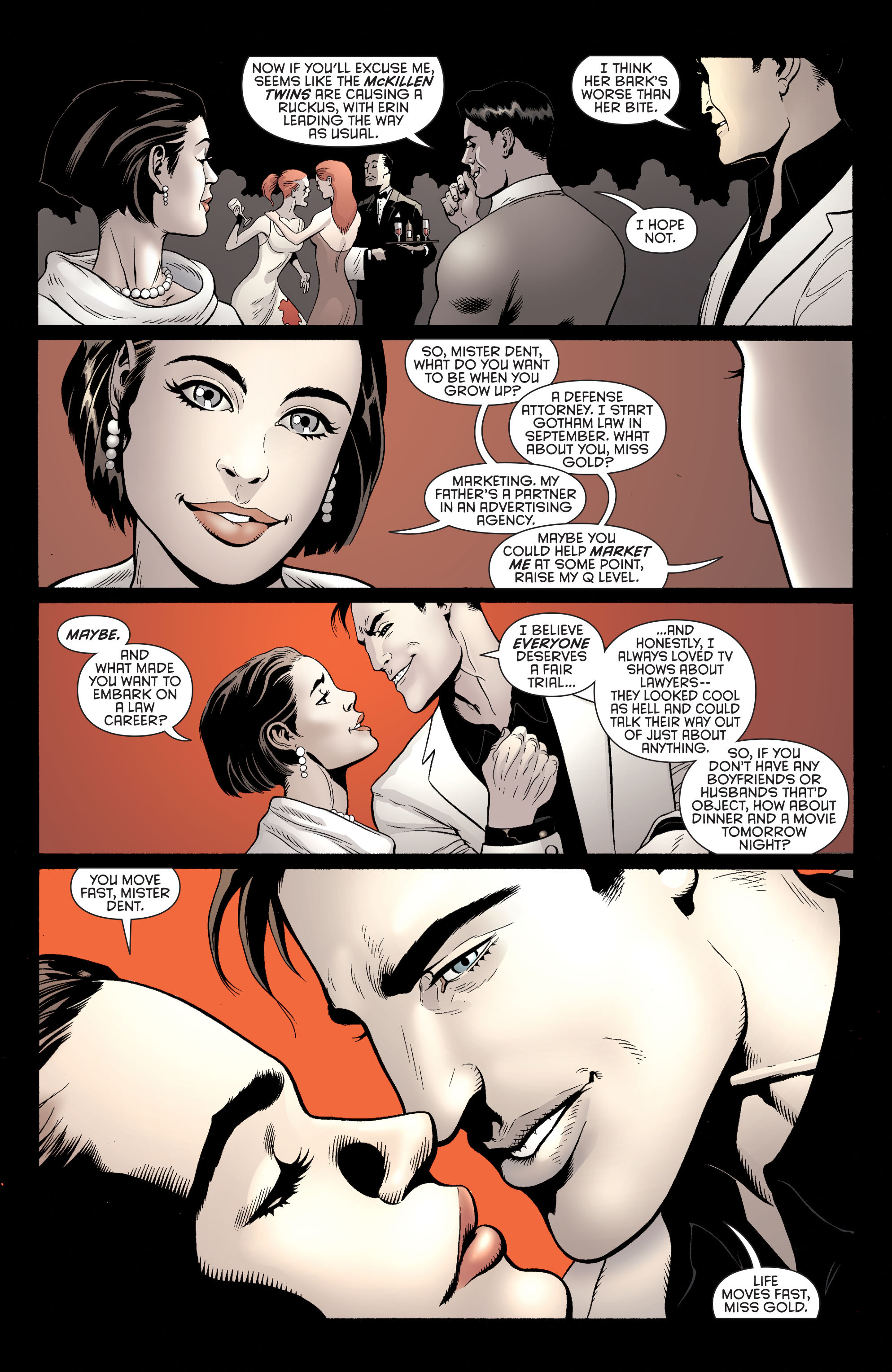 Read online Batman and Robin (2011) comic -  Issue #28 - Batman and Two-Face - 12