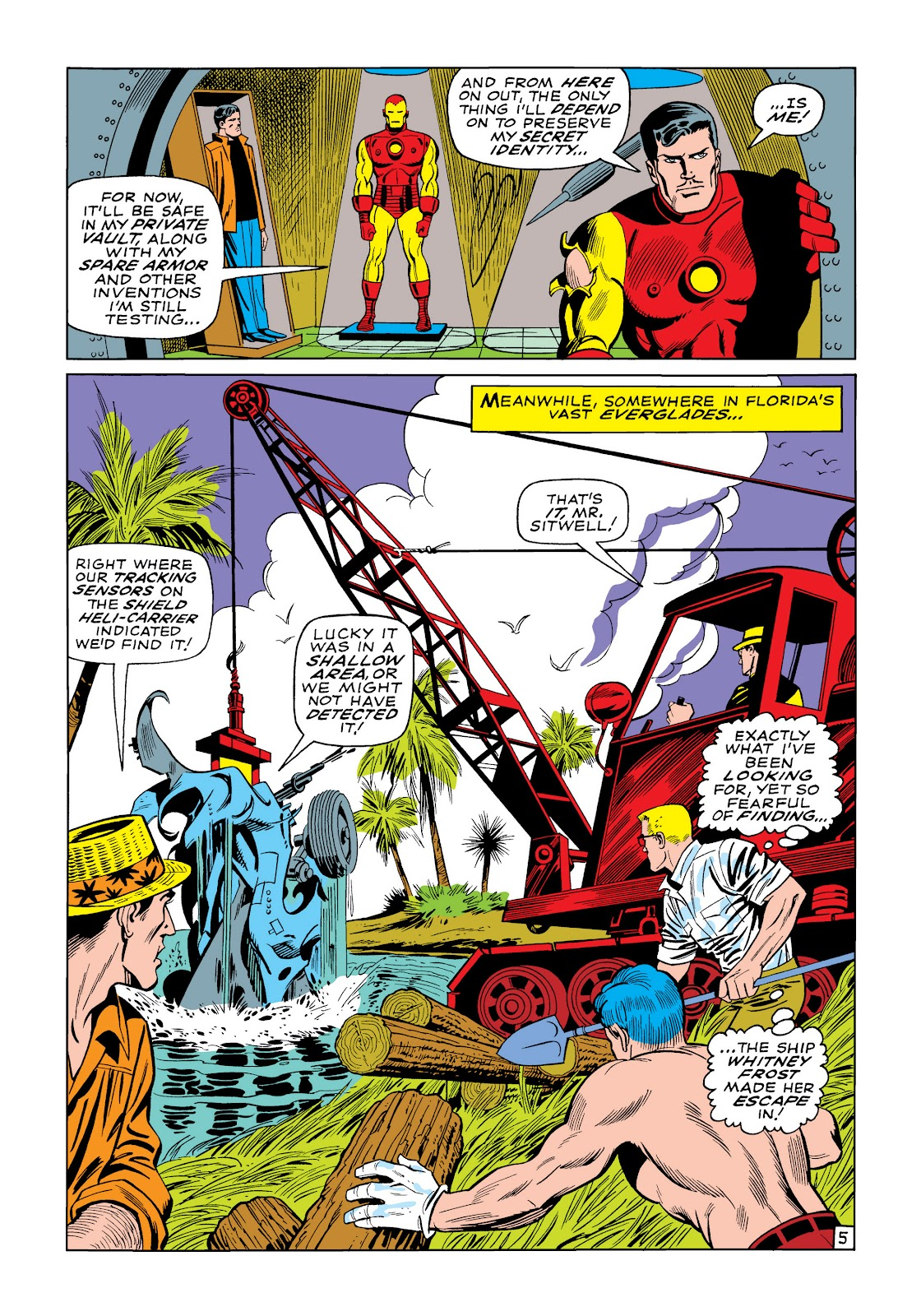 Read online Marvel Masterworks: The Invincible Iron Man comic -  Issue # TPB 5 (Part 3) - 22