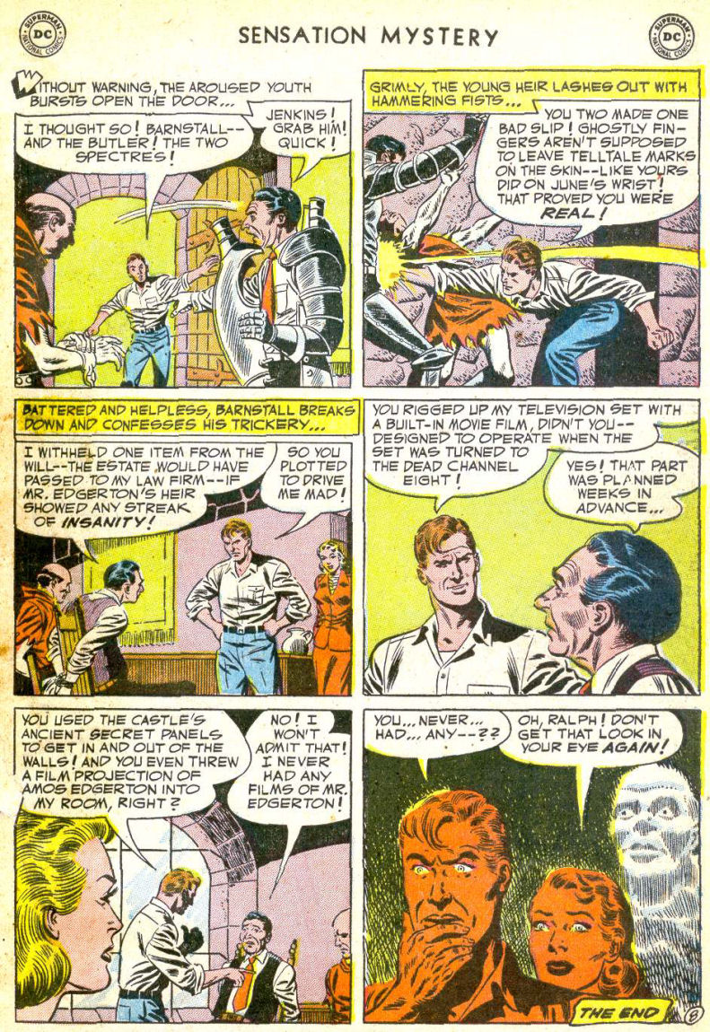 Read online Sensation (Mystery) Comics comic -  Issue #113 - 33