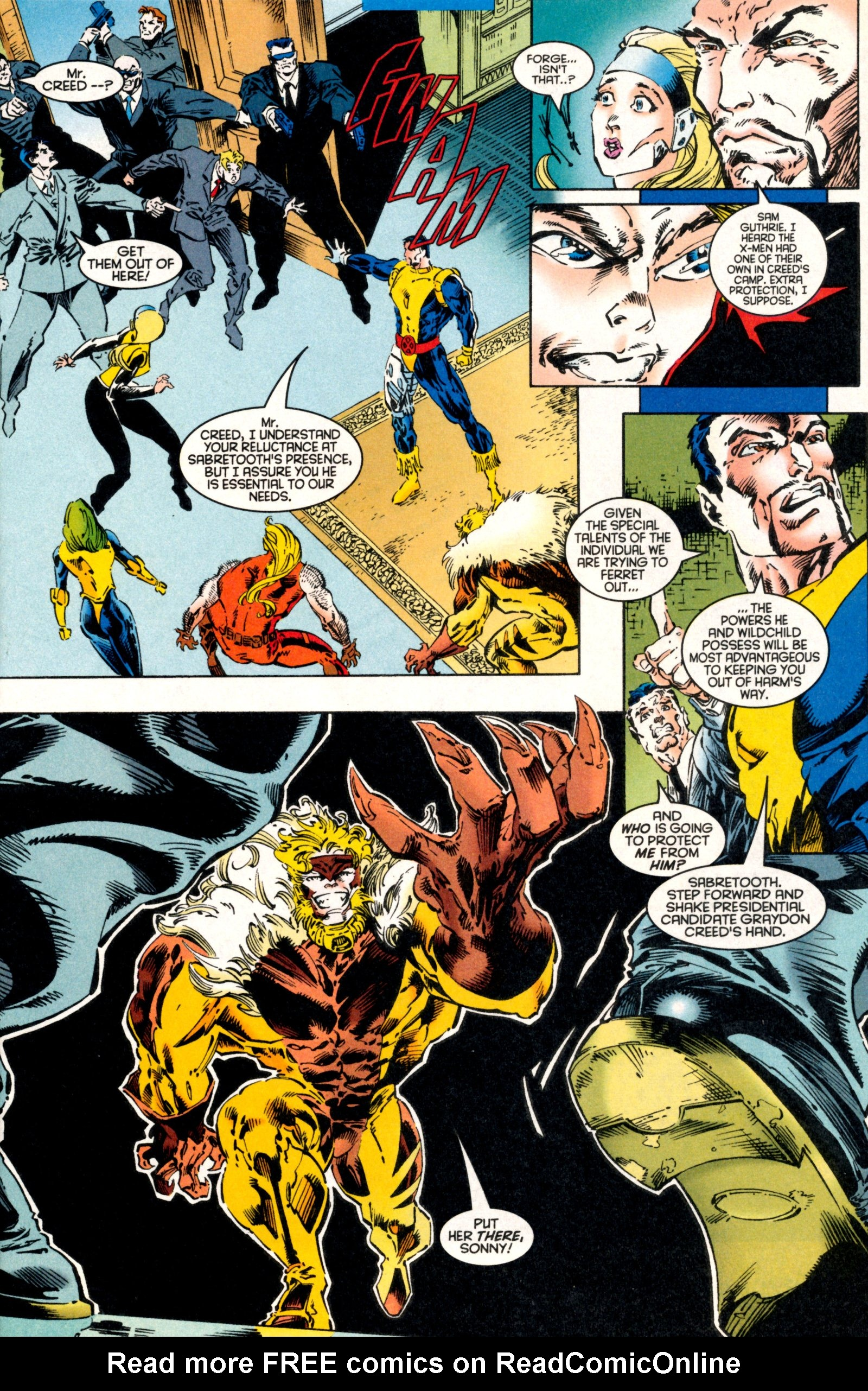 Read online X-Factor (1986) comic -  Issue #130 - 9