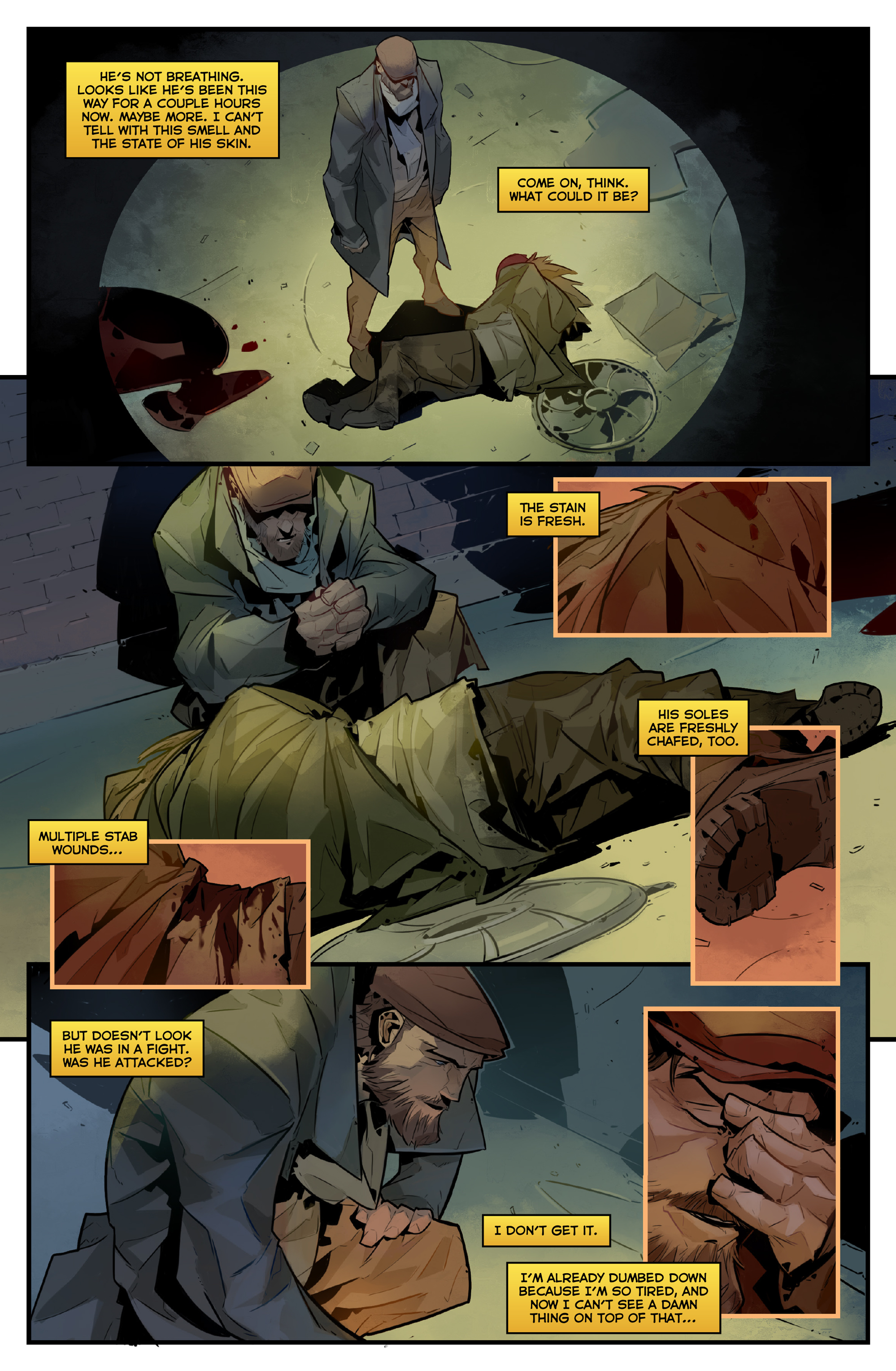 Read online Igor Grom comic -  Issue #4 - 19