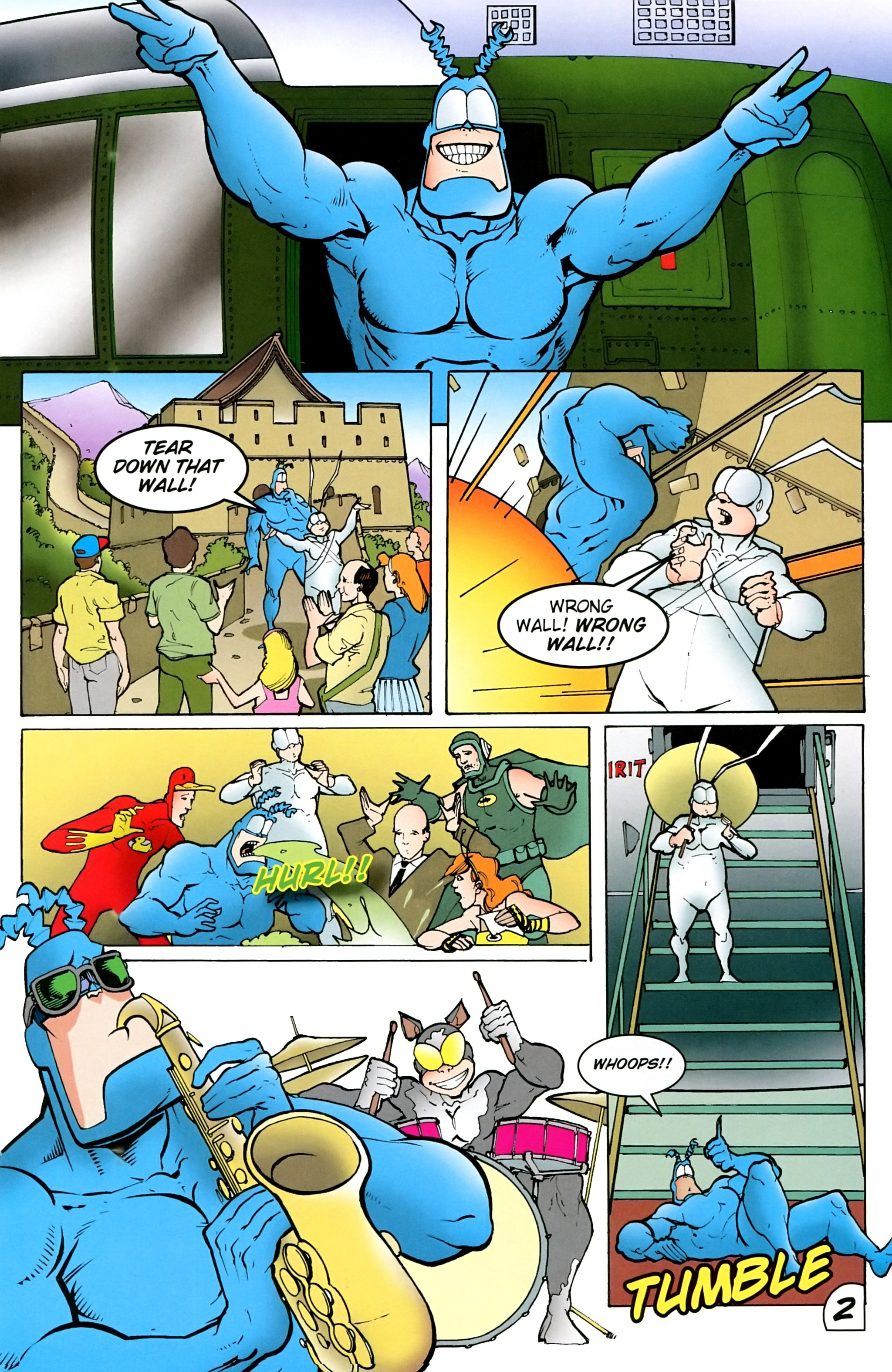 Read online Free Comic Book Day 2017 comic -  Issue # The Tick - 19