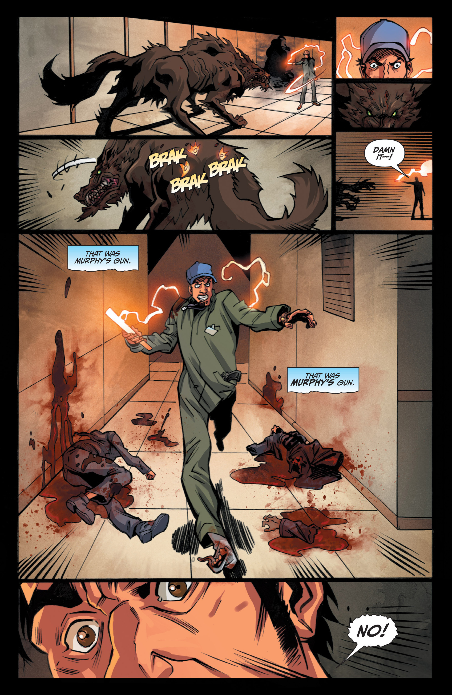 Read online Jim Butcher's The Dresden Files: Fool Moon comic -  Issue #5 - 23