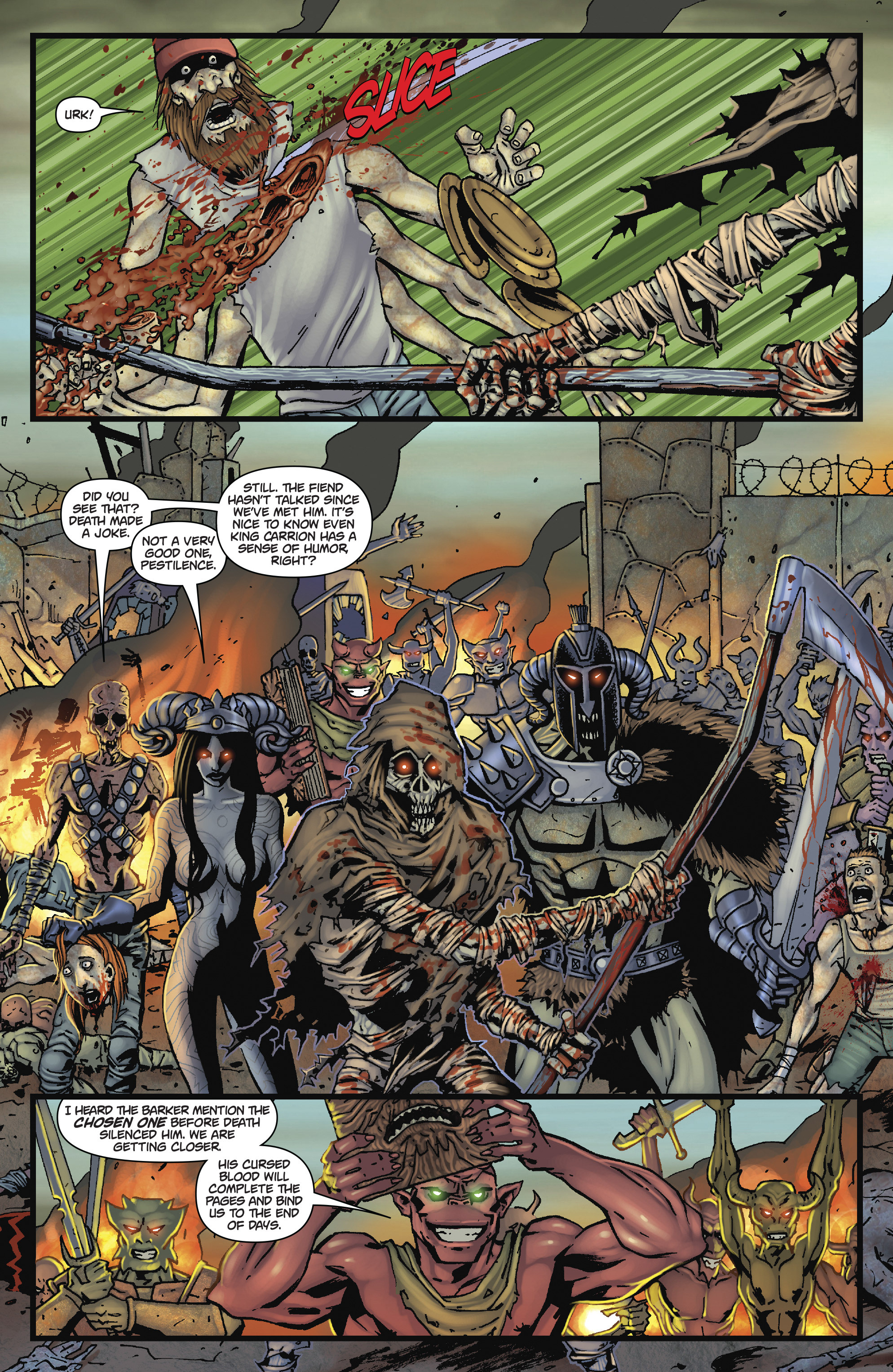 Read online Army of Darkness: The Long Road Home comic -  Issue #Army of Darkness: The Long Road Home TPB - 86