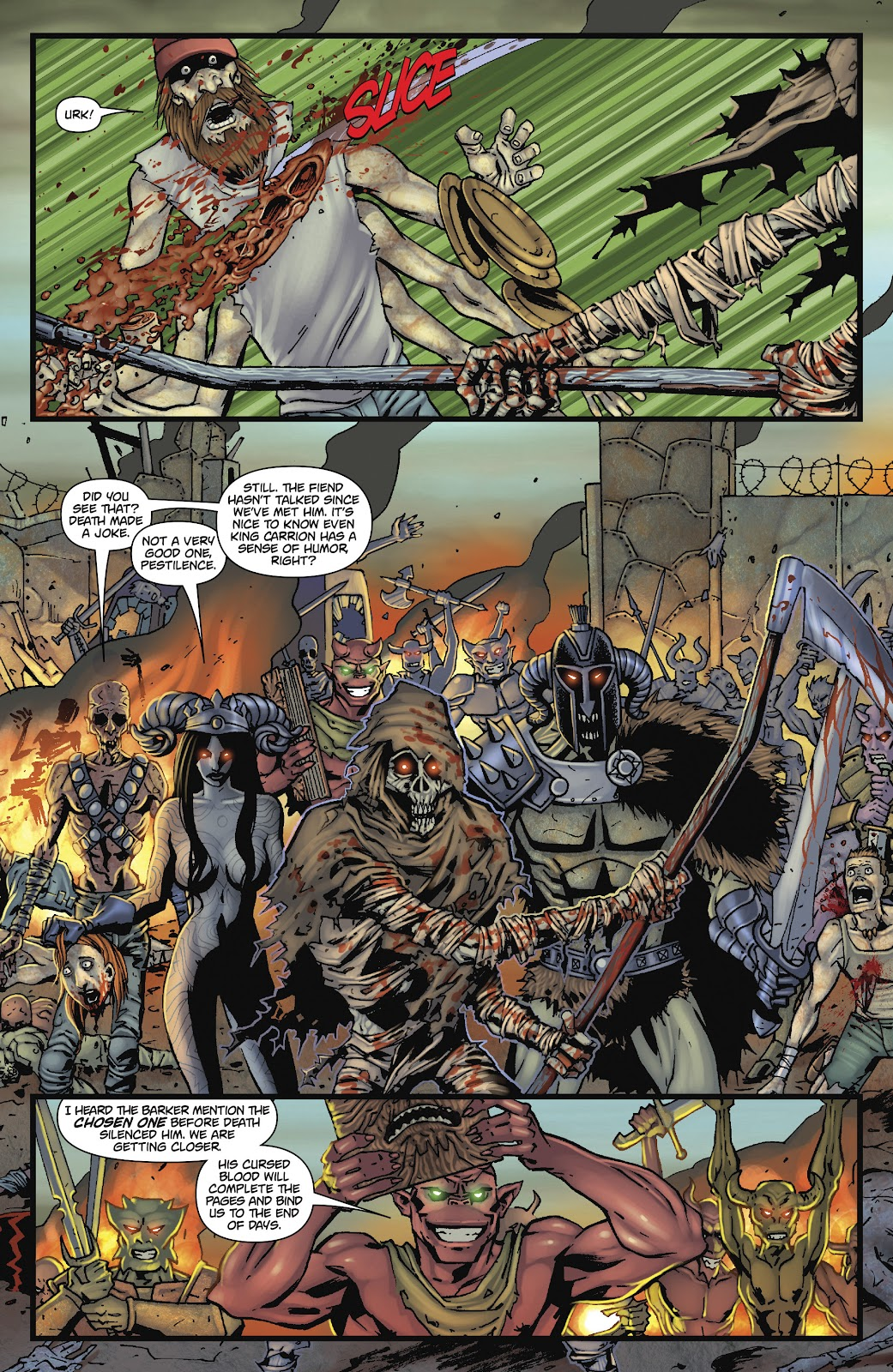 Army of Darkness: The Long Road Home issue TPB - Page 86