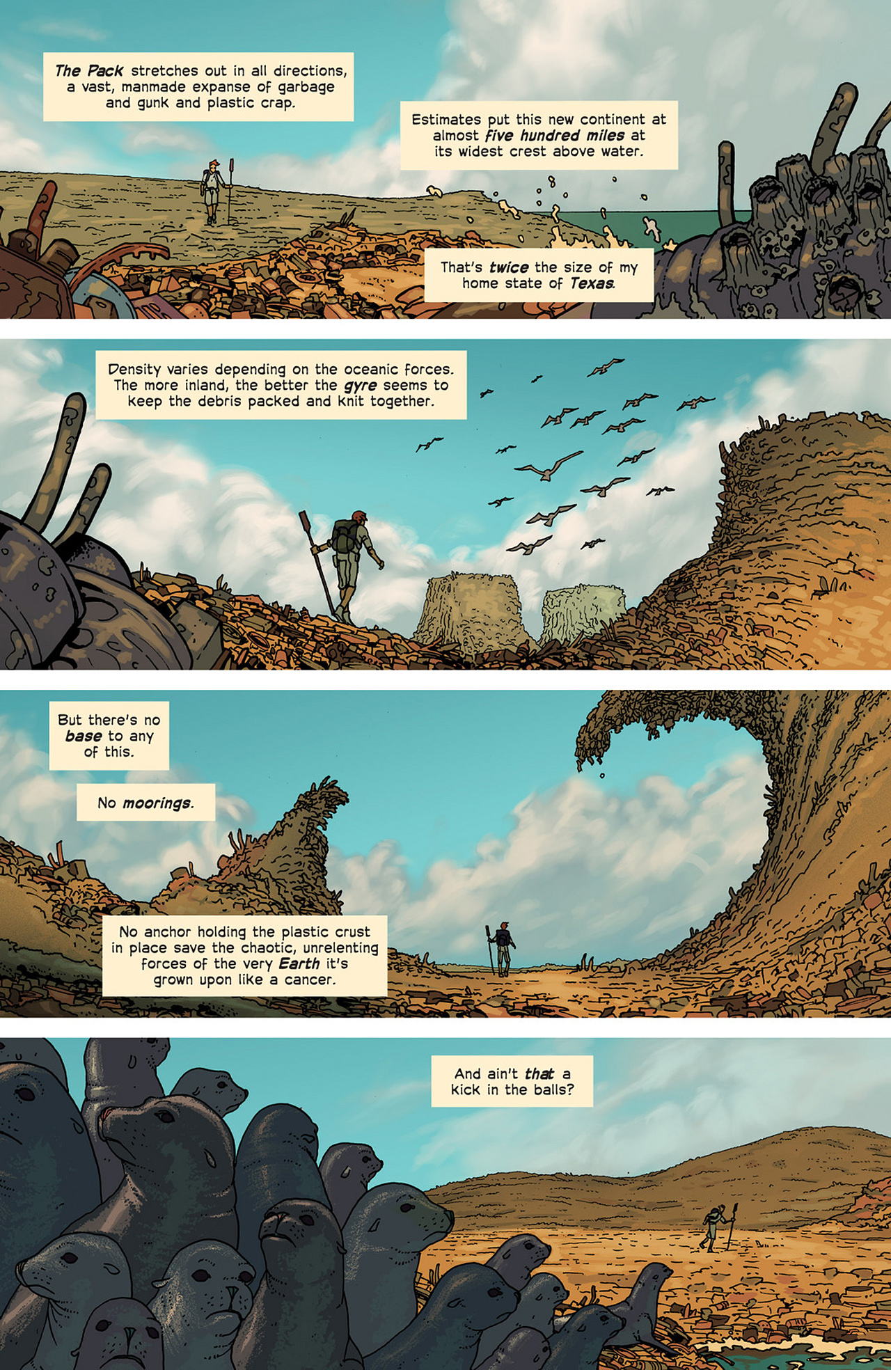 Read online Great Pacific comic -  Issue #2 - 5