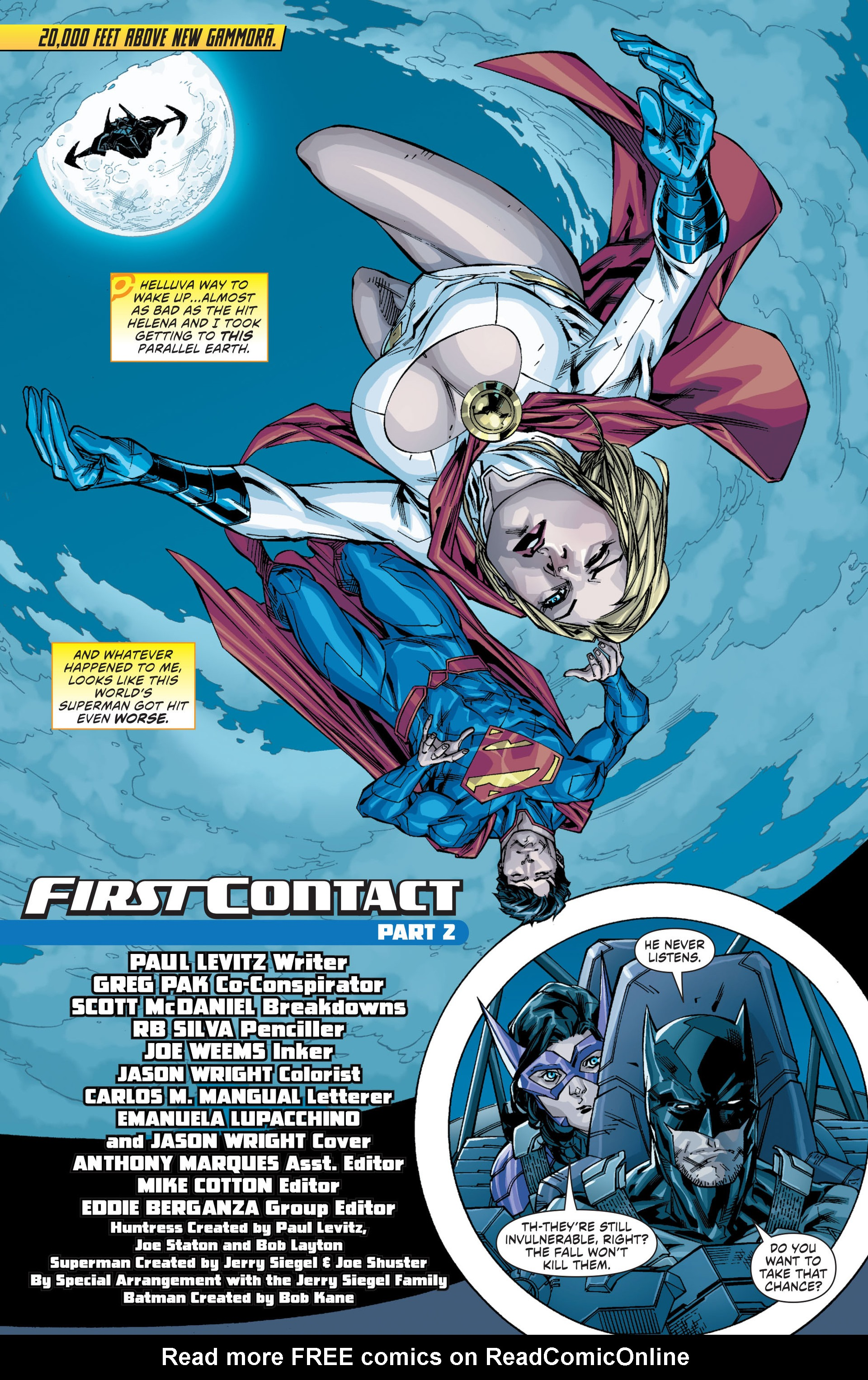 Read online Worlds' Finest comic -  Issue #20 - 2