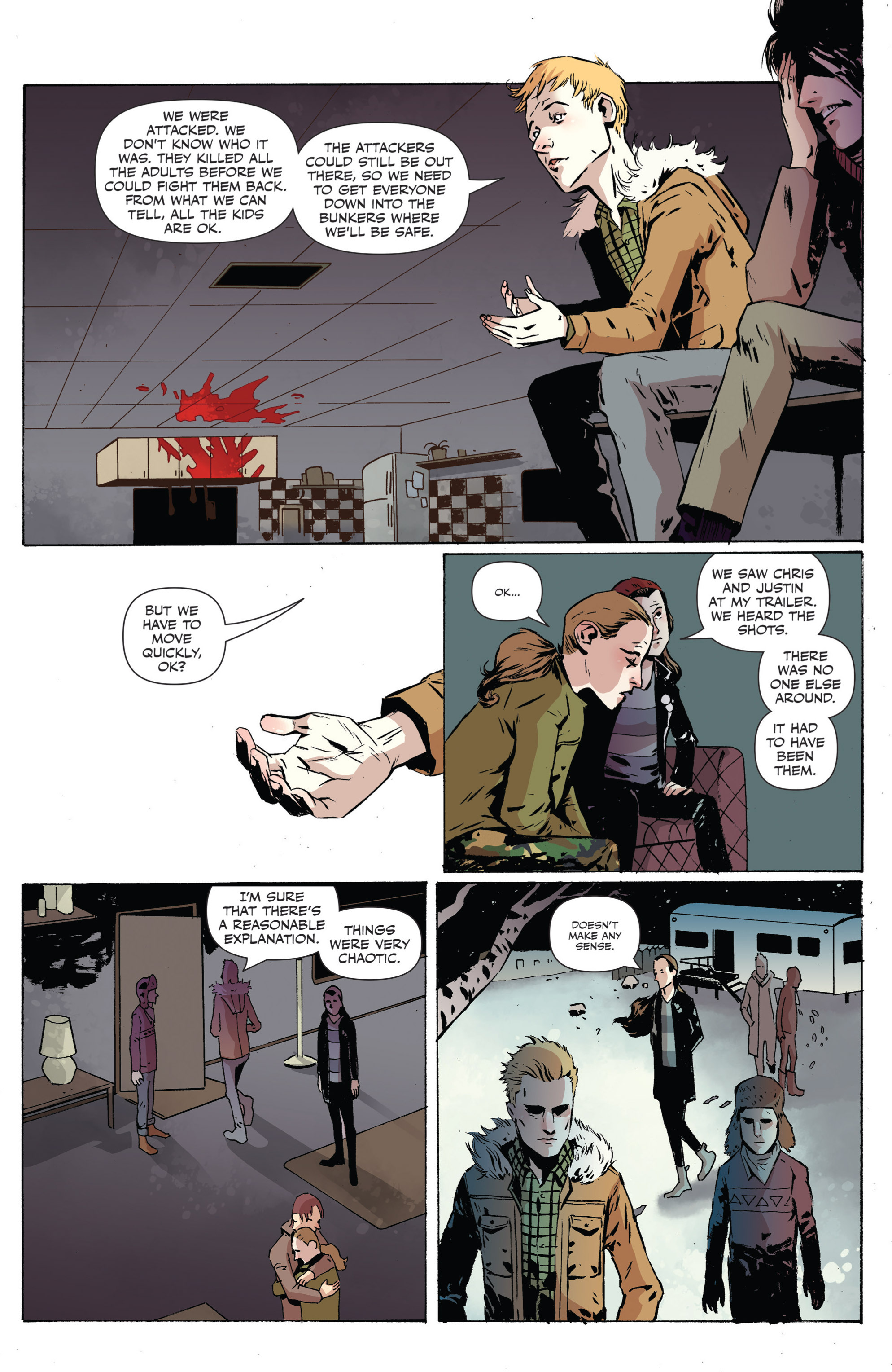 Read online Sheltered comic -  Issue #2 - 17
