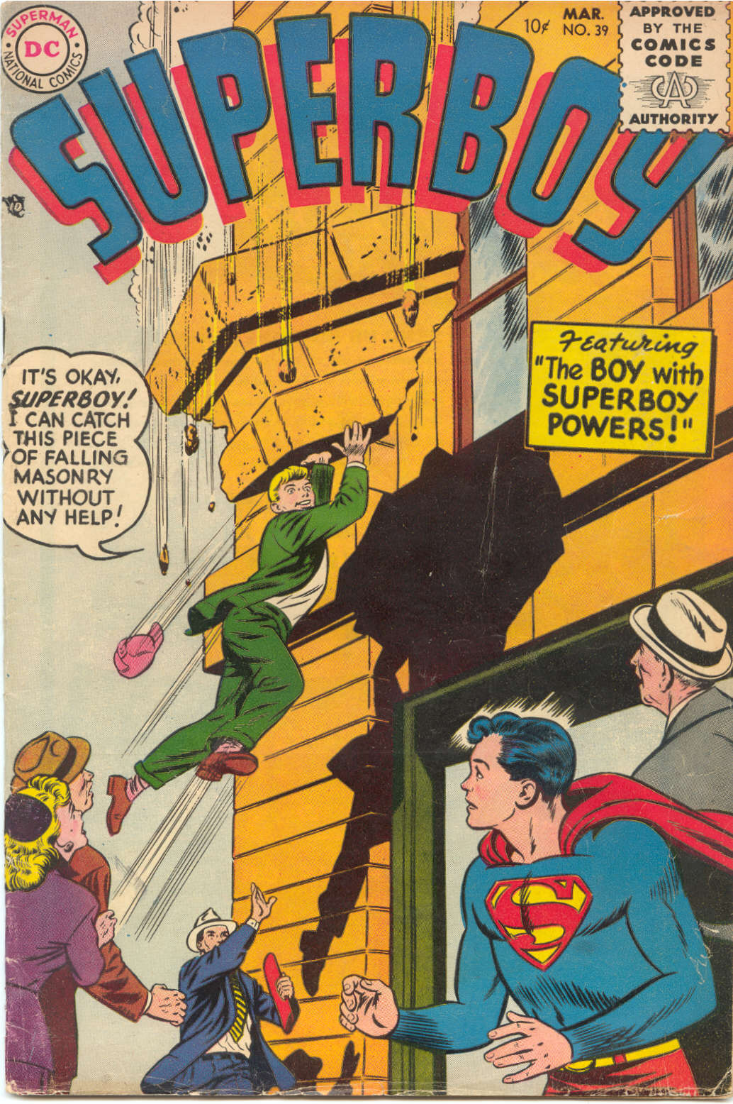 Superboy (1949) issue 39 - Page 1