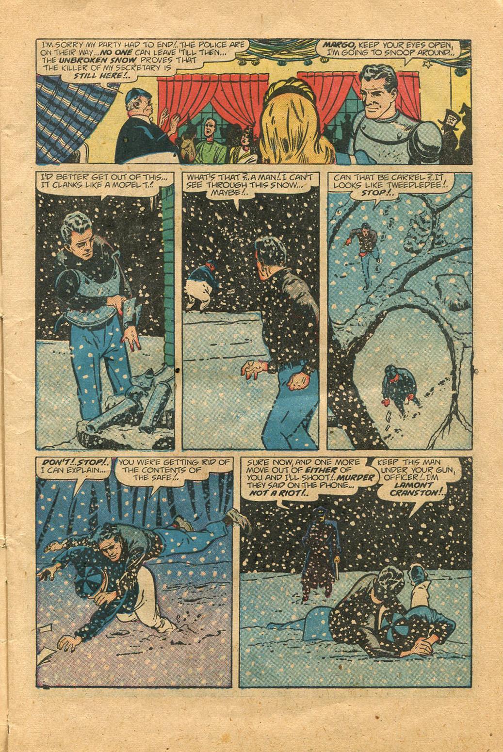 Read online Shadow Comics comic -  Issue #100 - 7