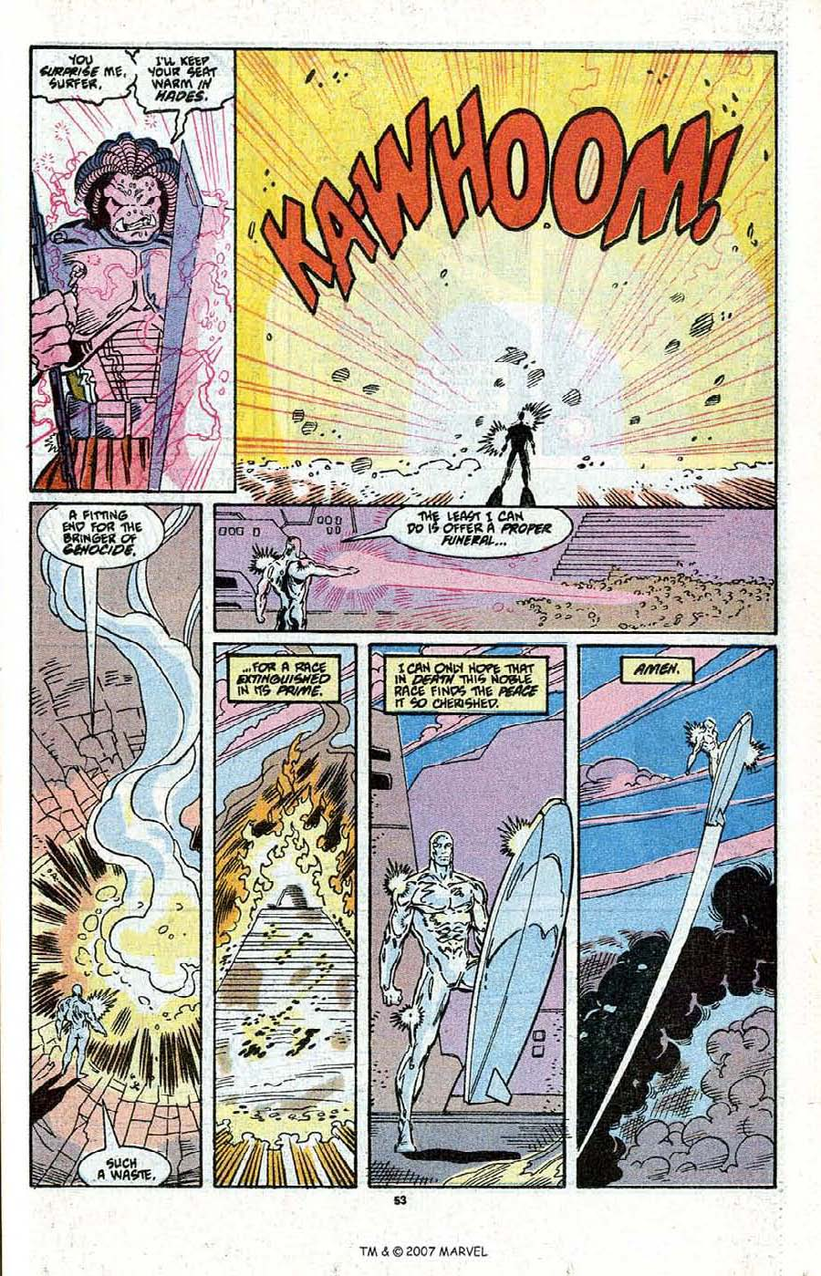 Read online Silver Surfer (1987) comic -  Issue # _Annual 3 - 55