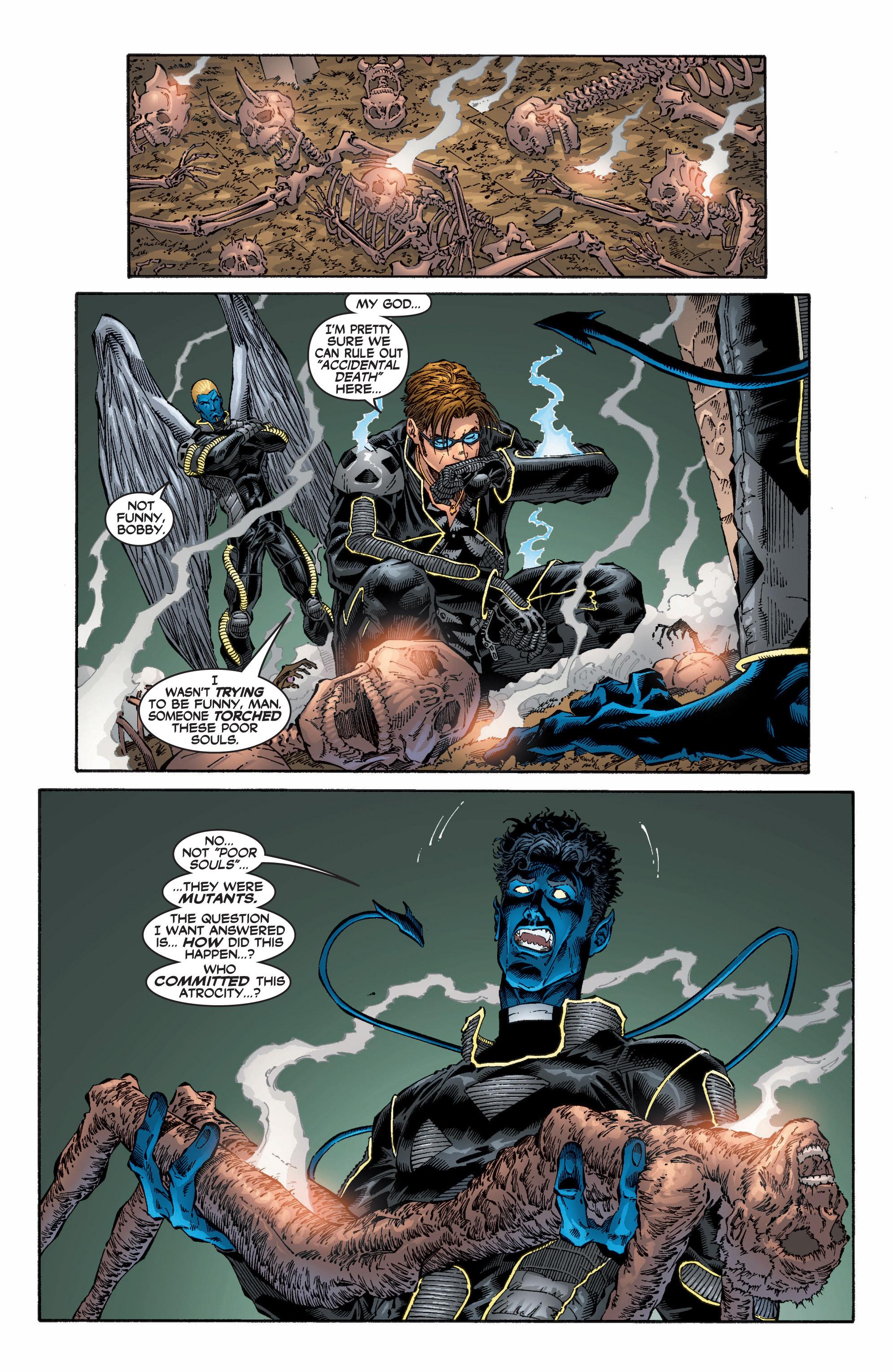 Read online Uncanny X-Men (1963) comic -  Issue #396 - 3