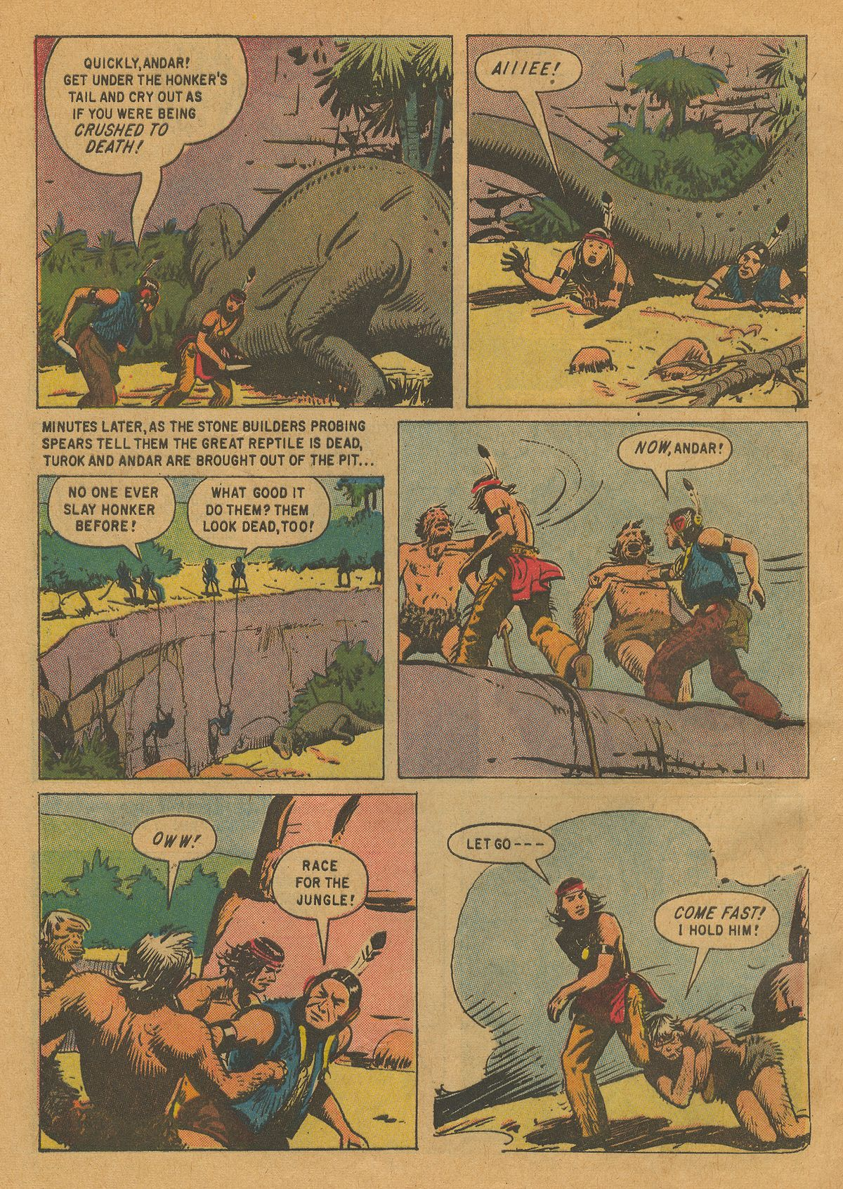 Read online Turok, Son of Stone comic -  Issue #22 - 32