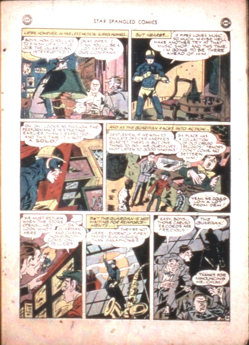 Star Spangled Comics (1941) issue 43 - Page 7