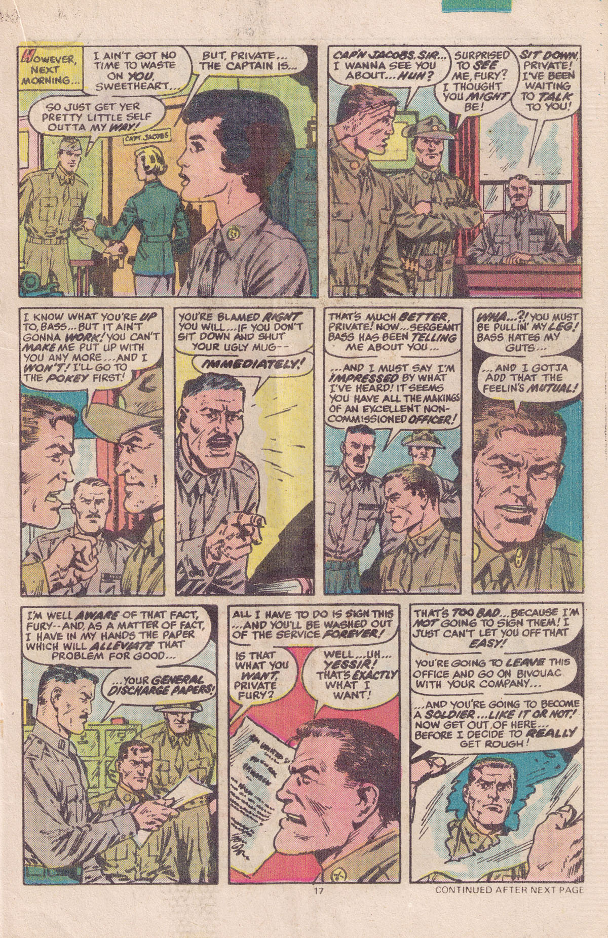 Read online Sgt. Fury comic -  Issue #158 - 19