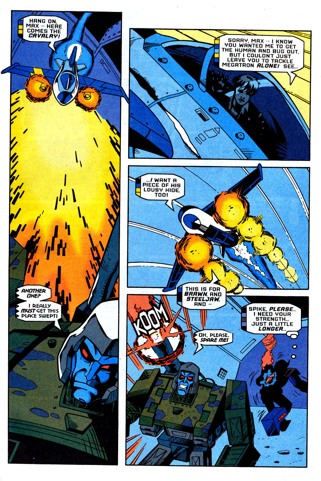 Read online Transformers: Generation 2 comic -  Issue #2 - 14