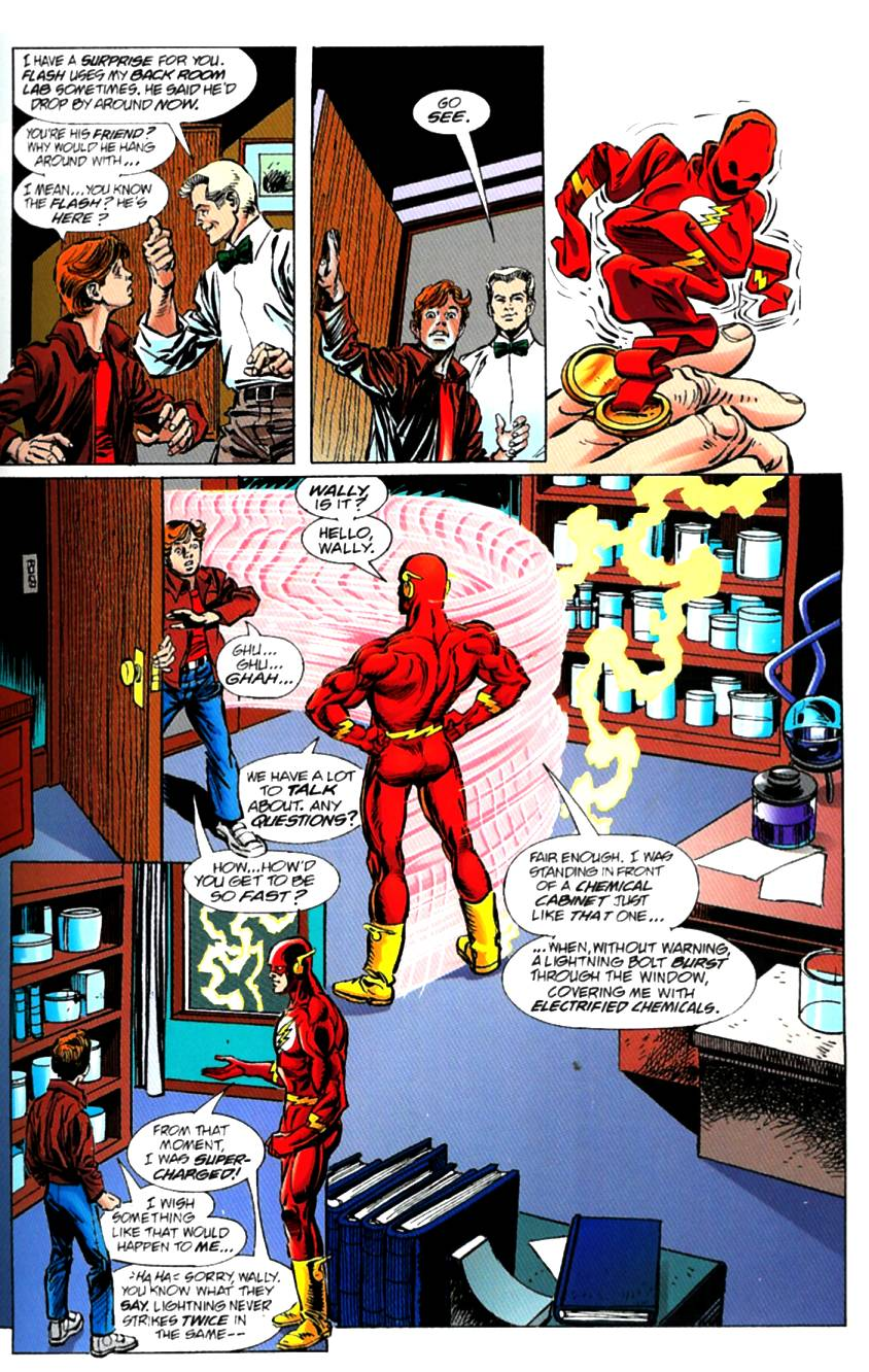 Read online The Life Story of the Flash comic -  Issue # Full - 35