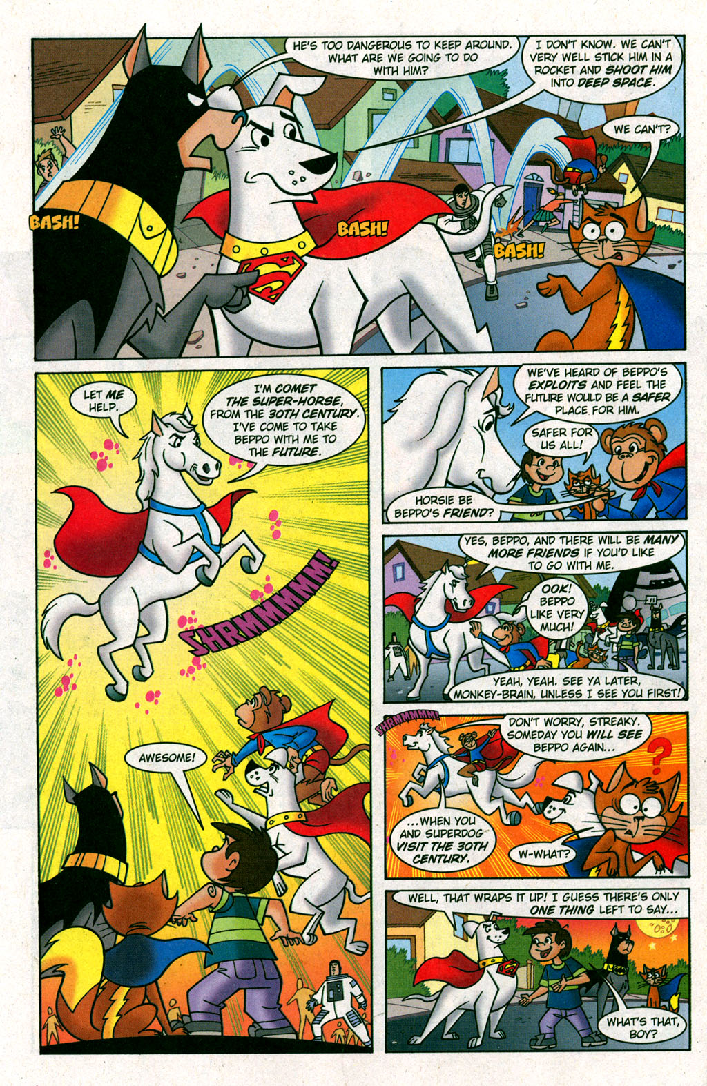 Read online Krypto the Superdog comic -  Issue #6 - 20