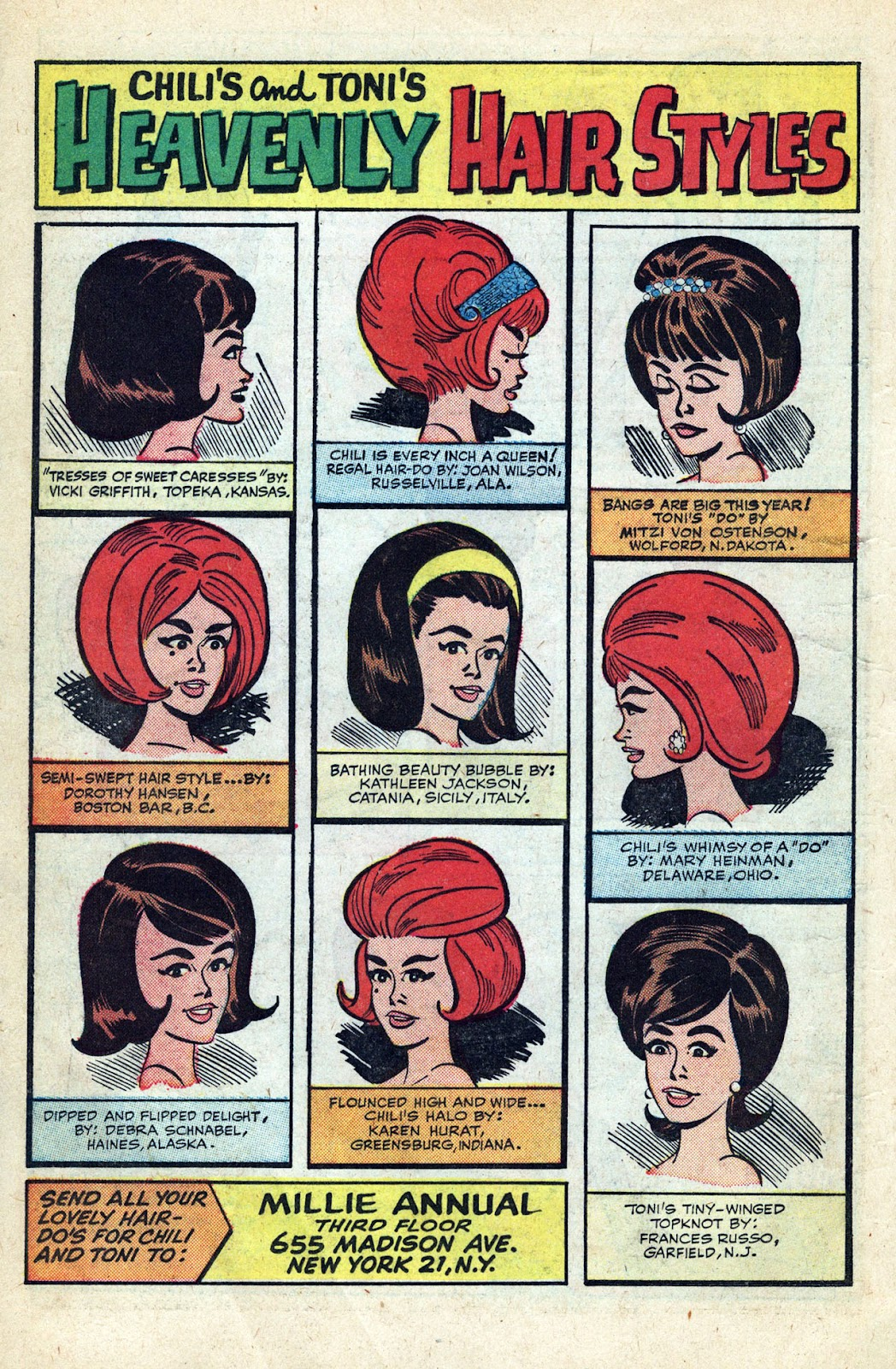 Read online Millie the Model comic -  Issue # Annual 3 - 72