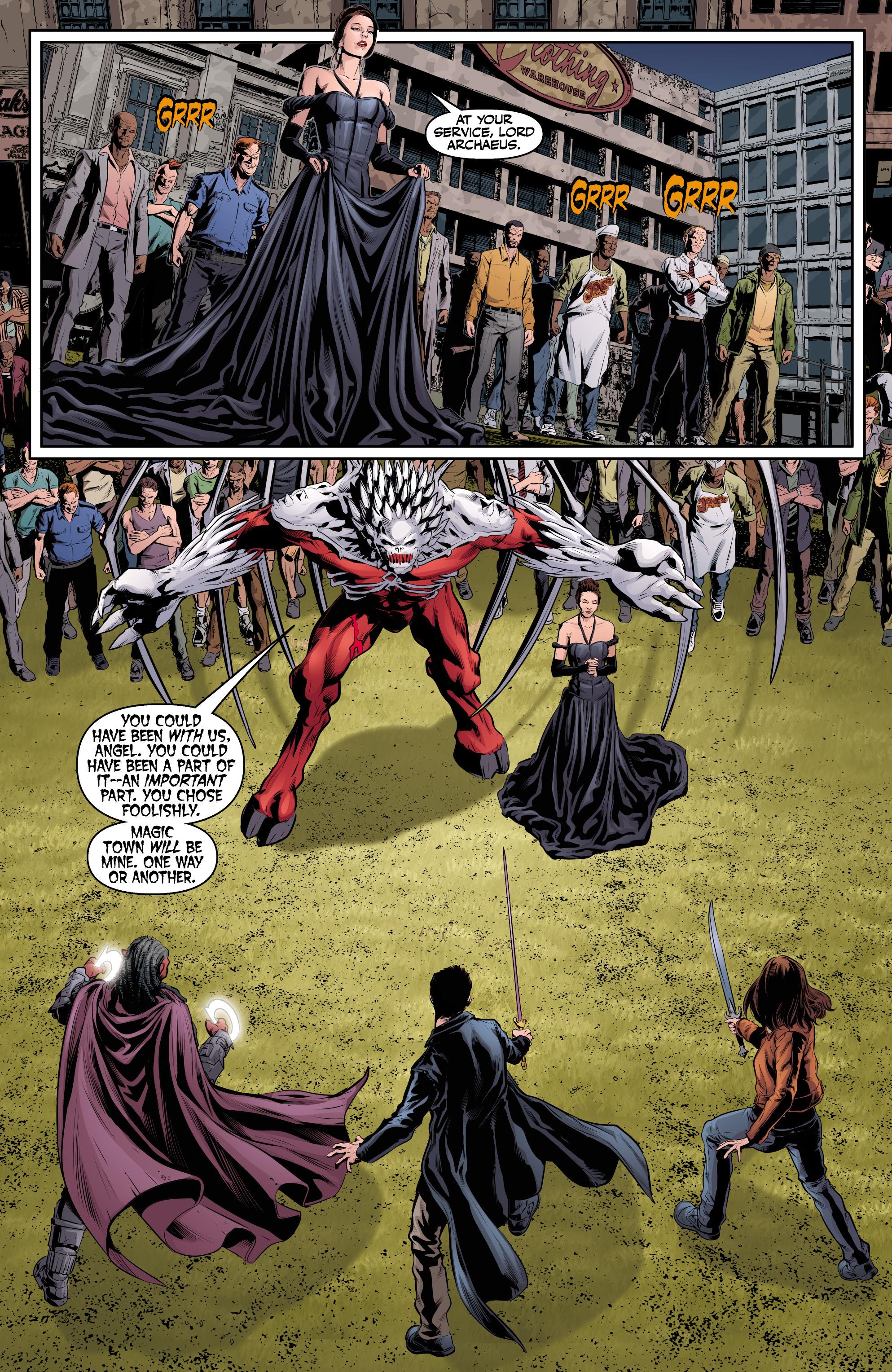 Read online Angel & Faith Season 10 comic -  Issue #24 - 24