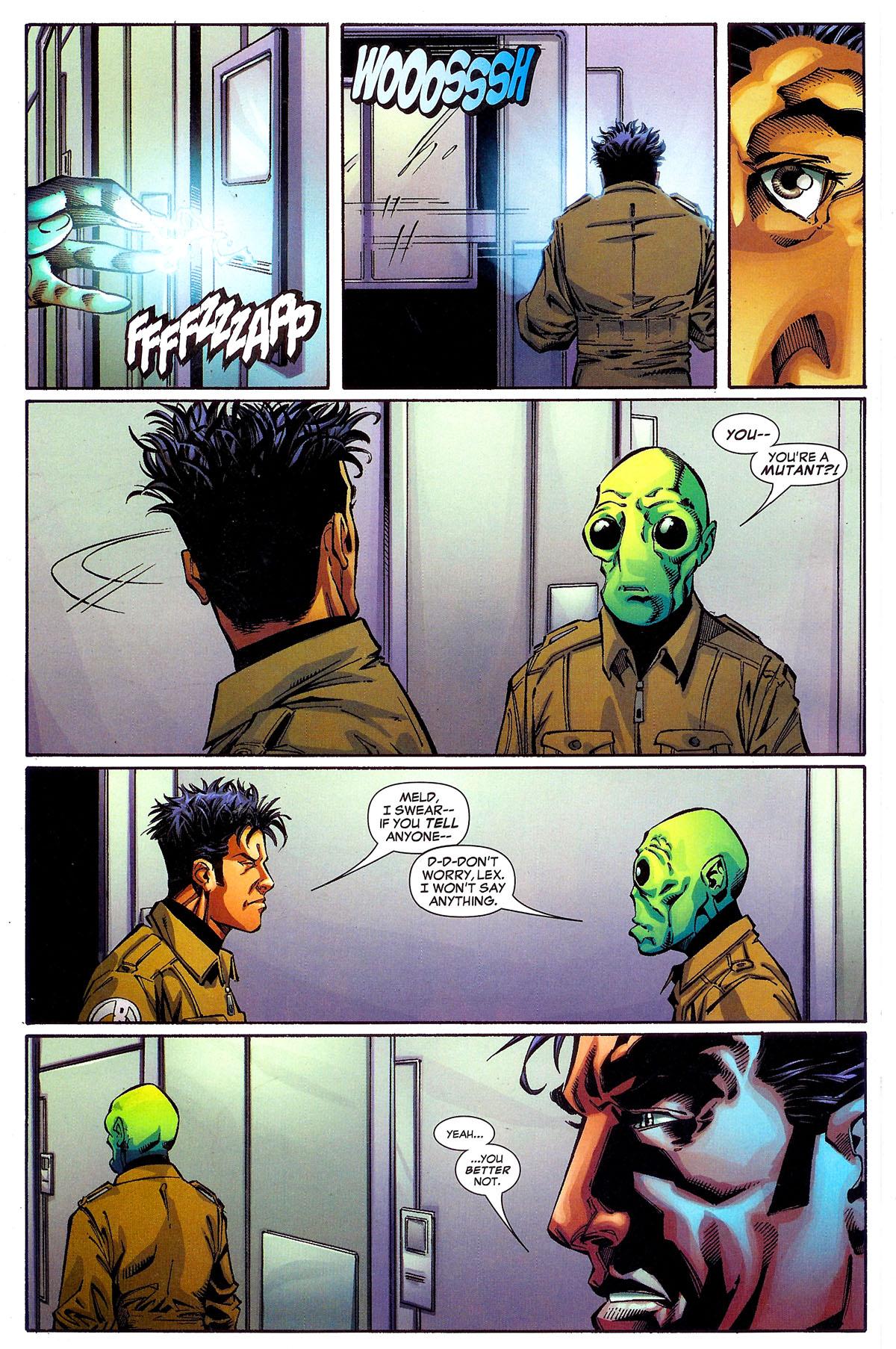 Read online Sentinel Squad O*N*E comic -  Issue #1 - 21