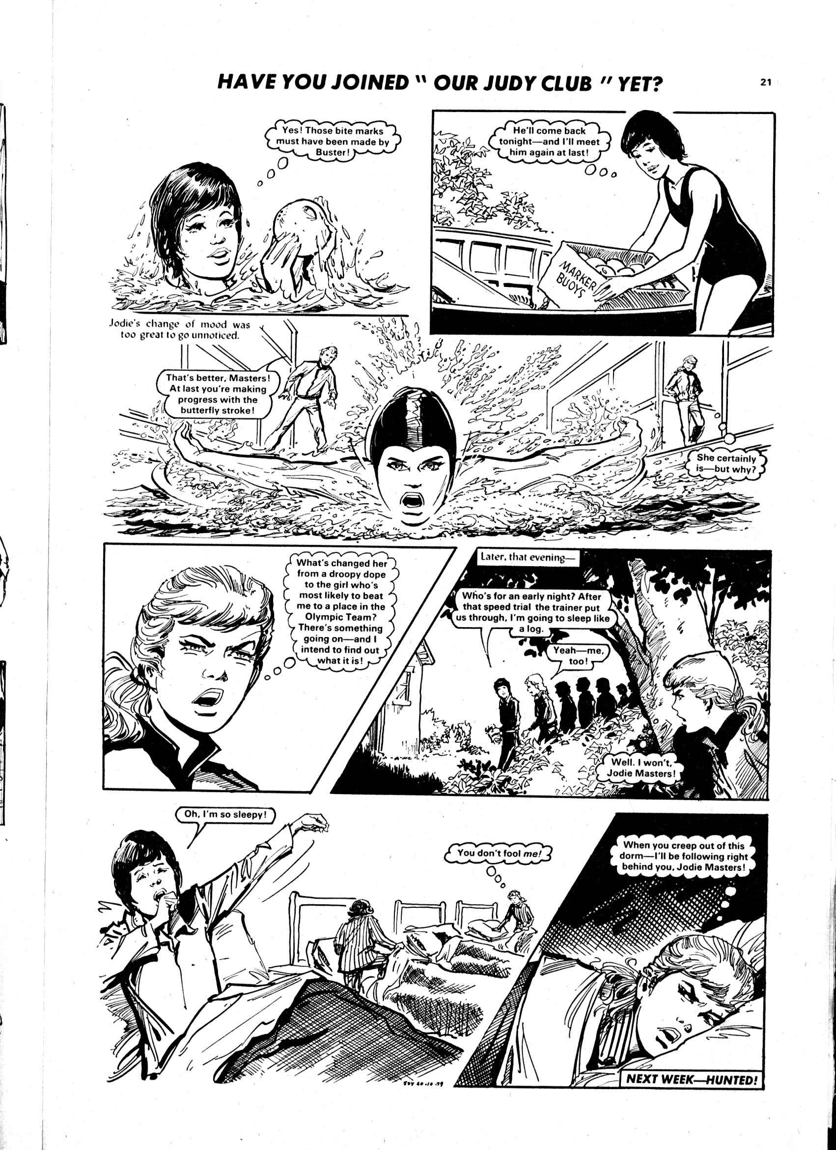 Read online Judy comic -  Issue #1032 - 21