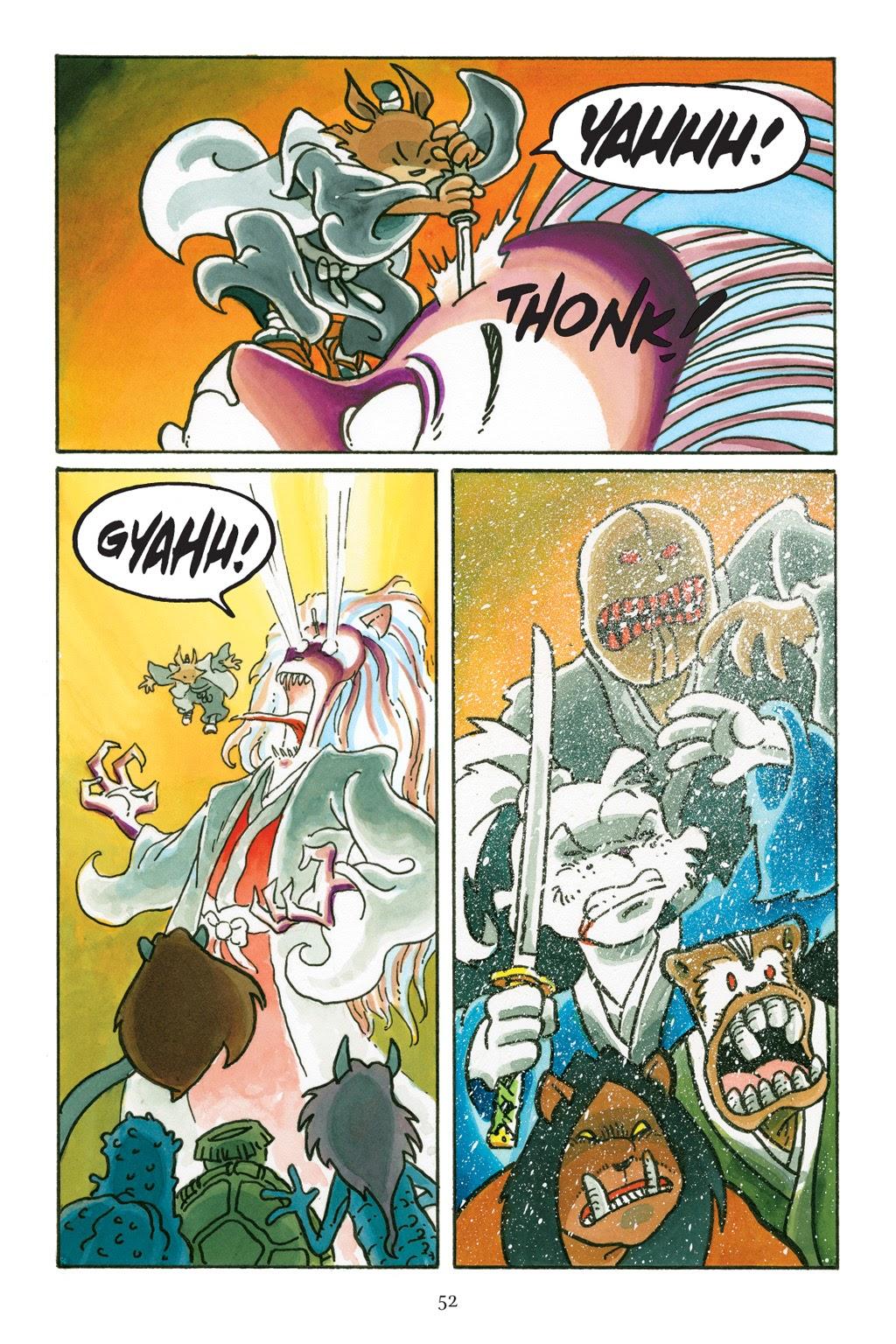 Read online Usagi Yojimbo: Yokai comic -  Issue # Full - 49