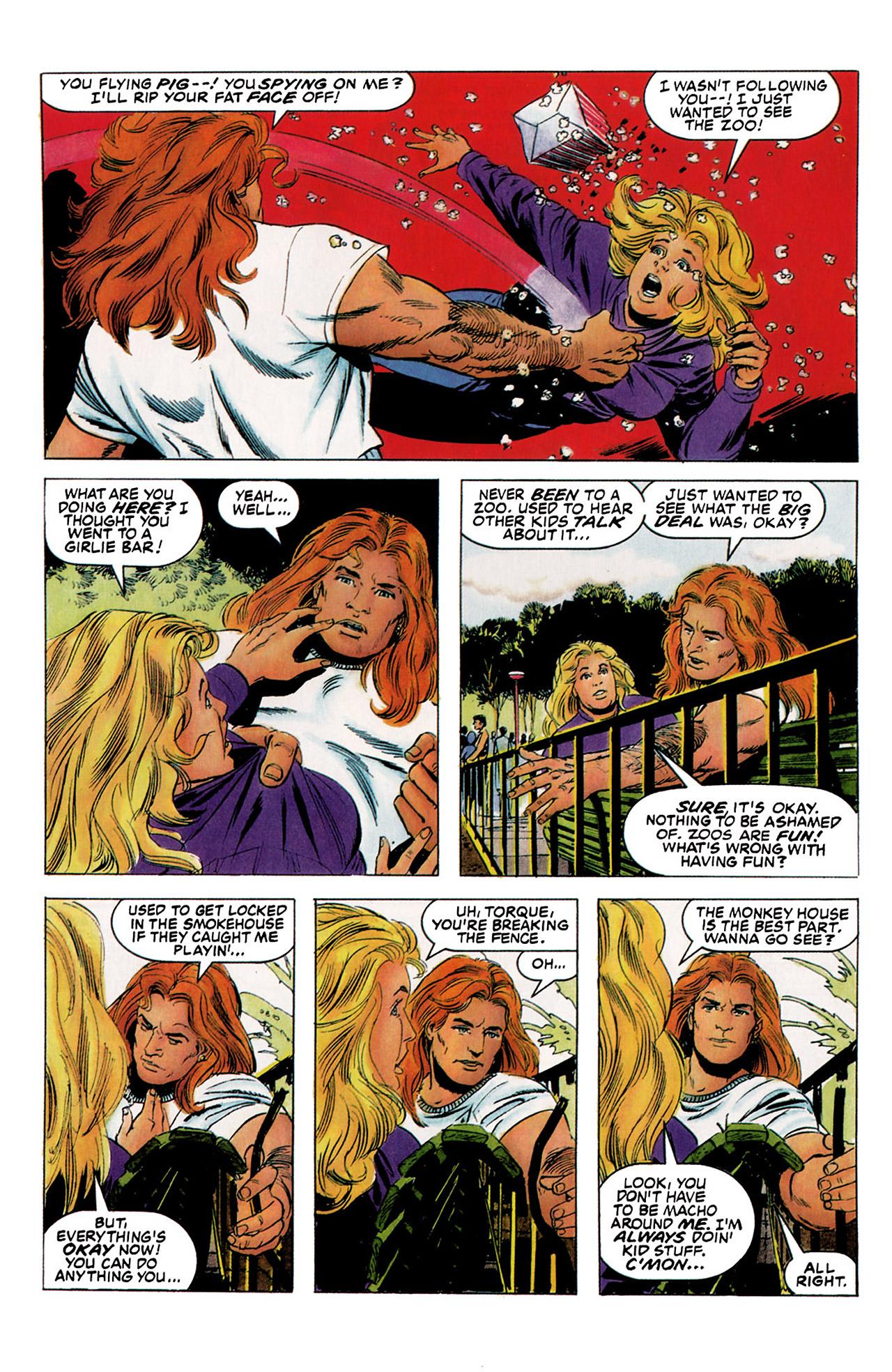 Read online Harbinger (1992) comic -  Issue #5 - 6
