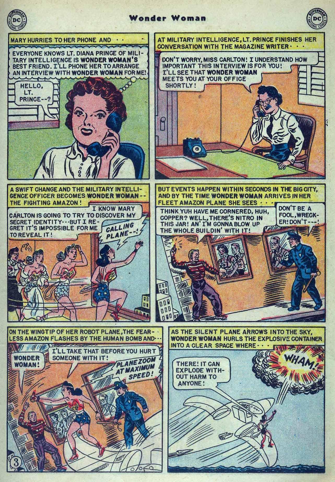Read online Wonder Woman (1942) comic -  Issue #53 - 17